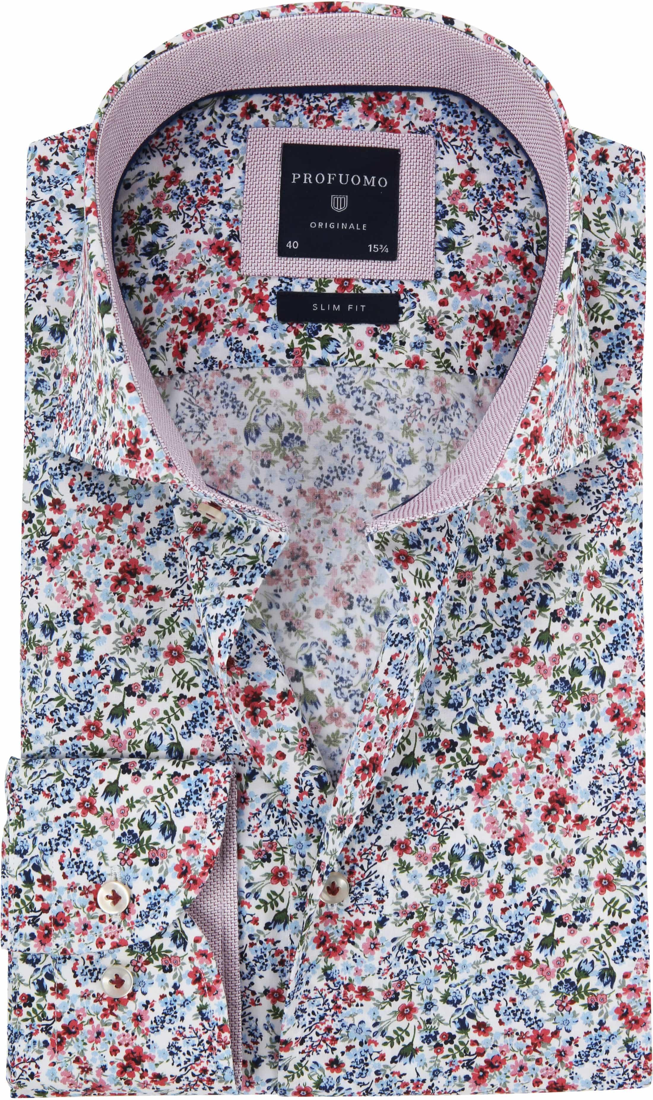 Bloemen Overhemd.Baan Thai Den Haag