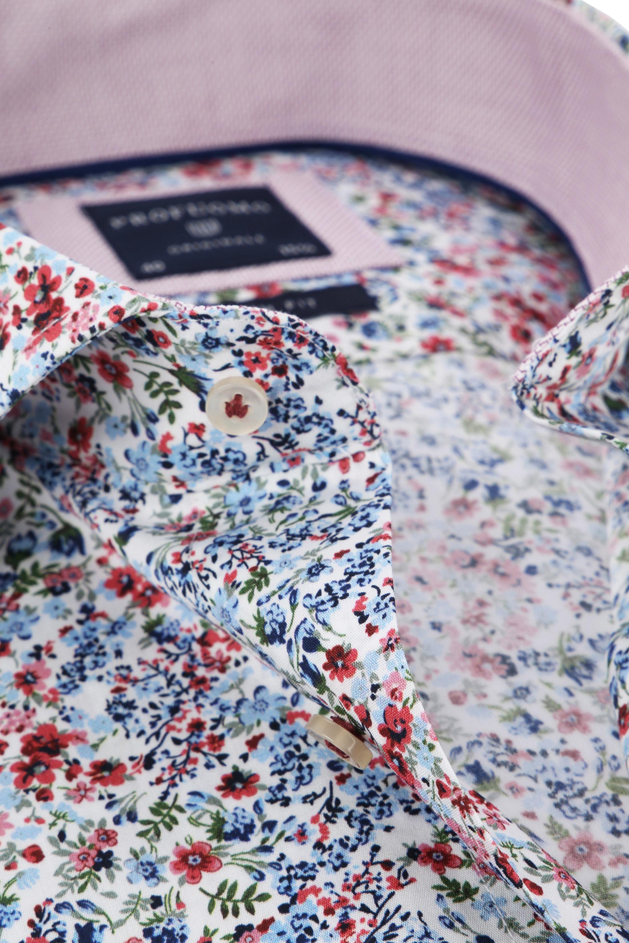 Profuomo Overhemd Bloemen foto 1