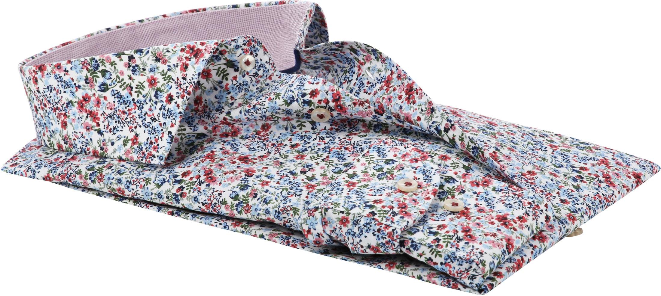 Profuomo Overhemd Bloemen foto 3