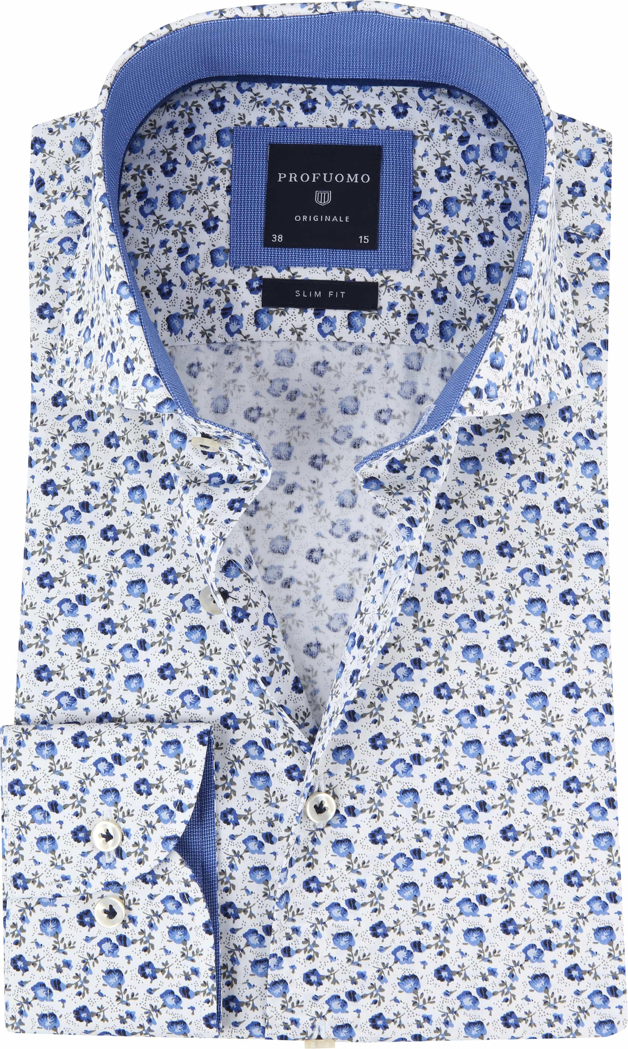 Profuomo Overhemd CAW Bloemen foto 0