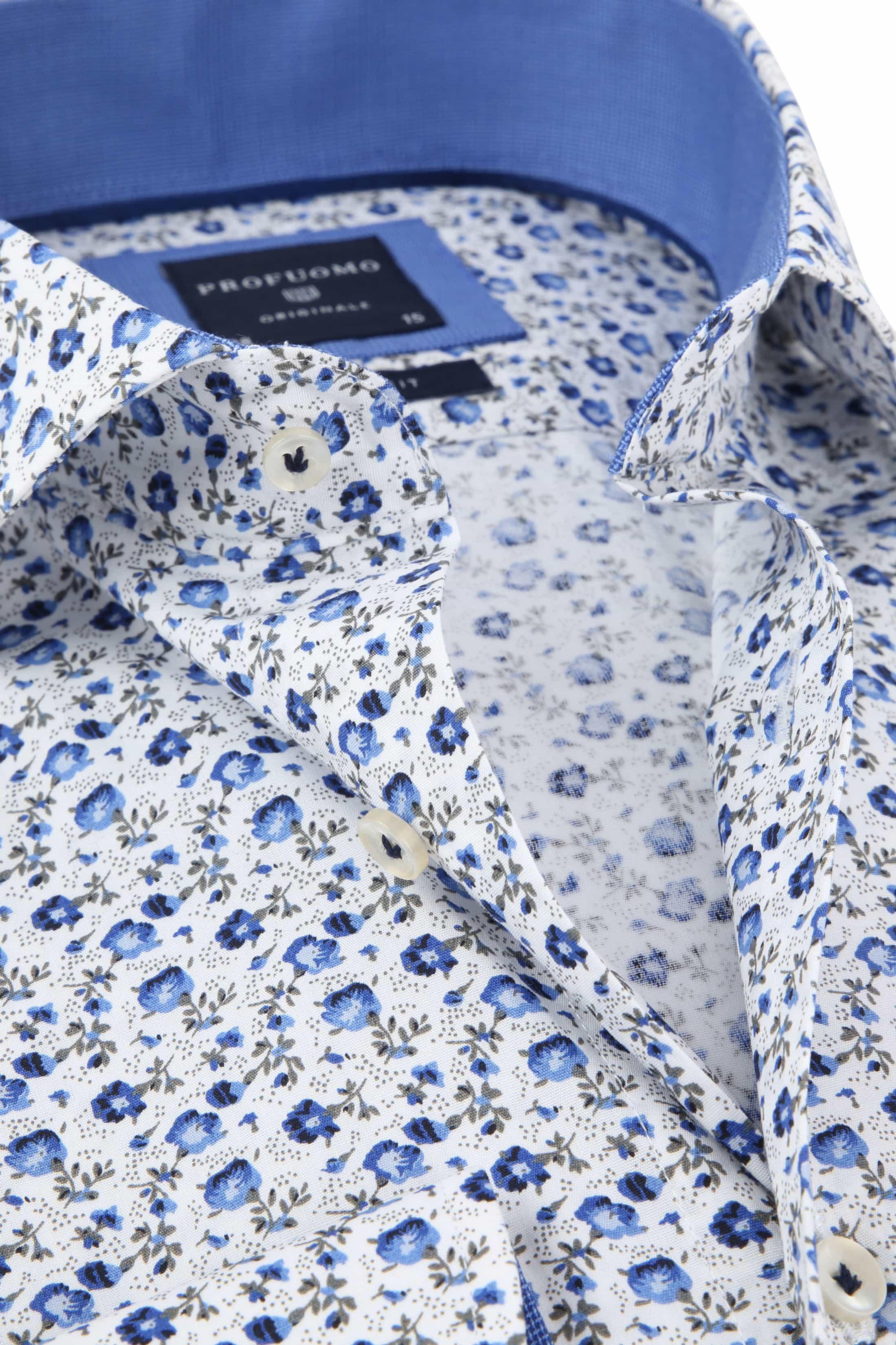 Profuomo Overhemd CAW Bloemen foto 1