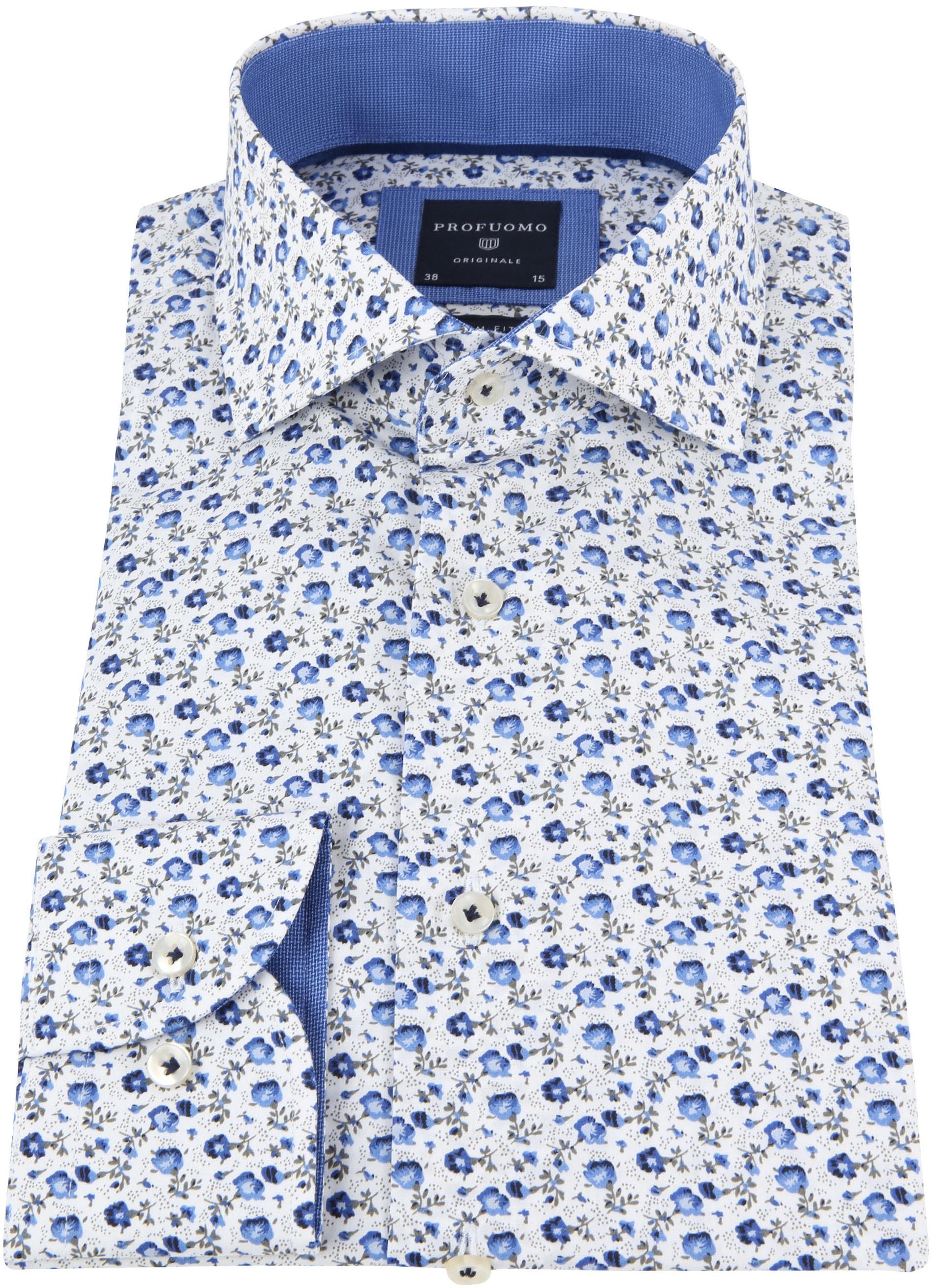 Profuomo Overhemd CAW Bloemen foto 2