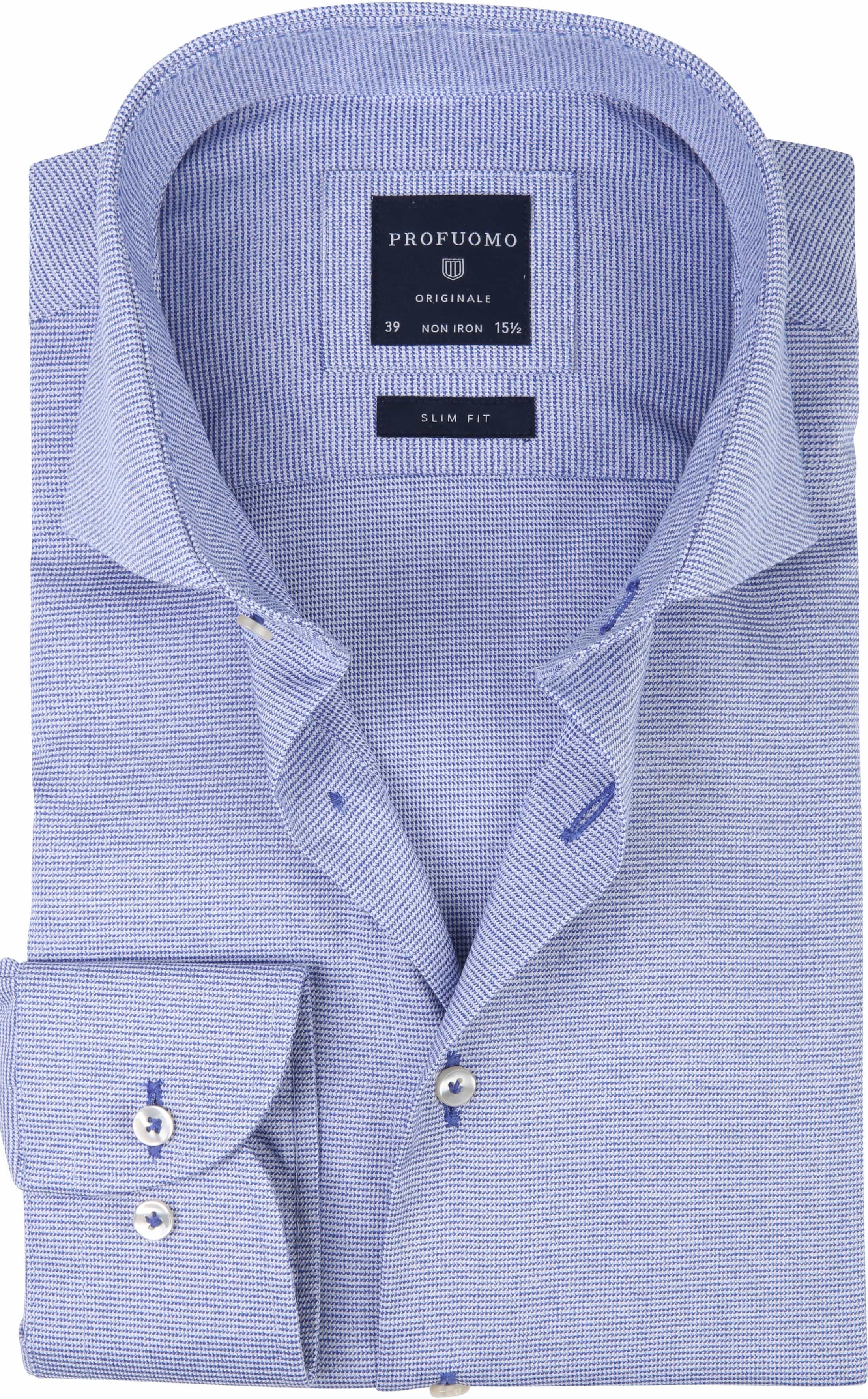 Profuomo Overhemd CAW PDP Blauw foto 0