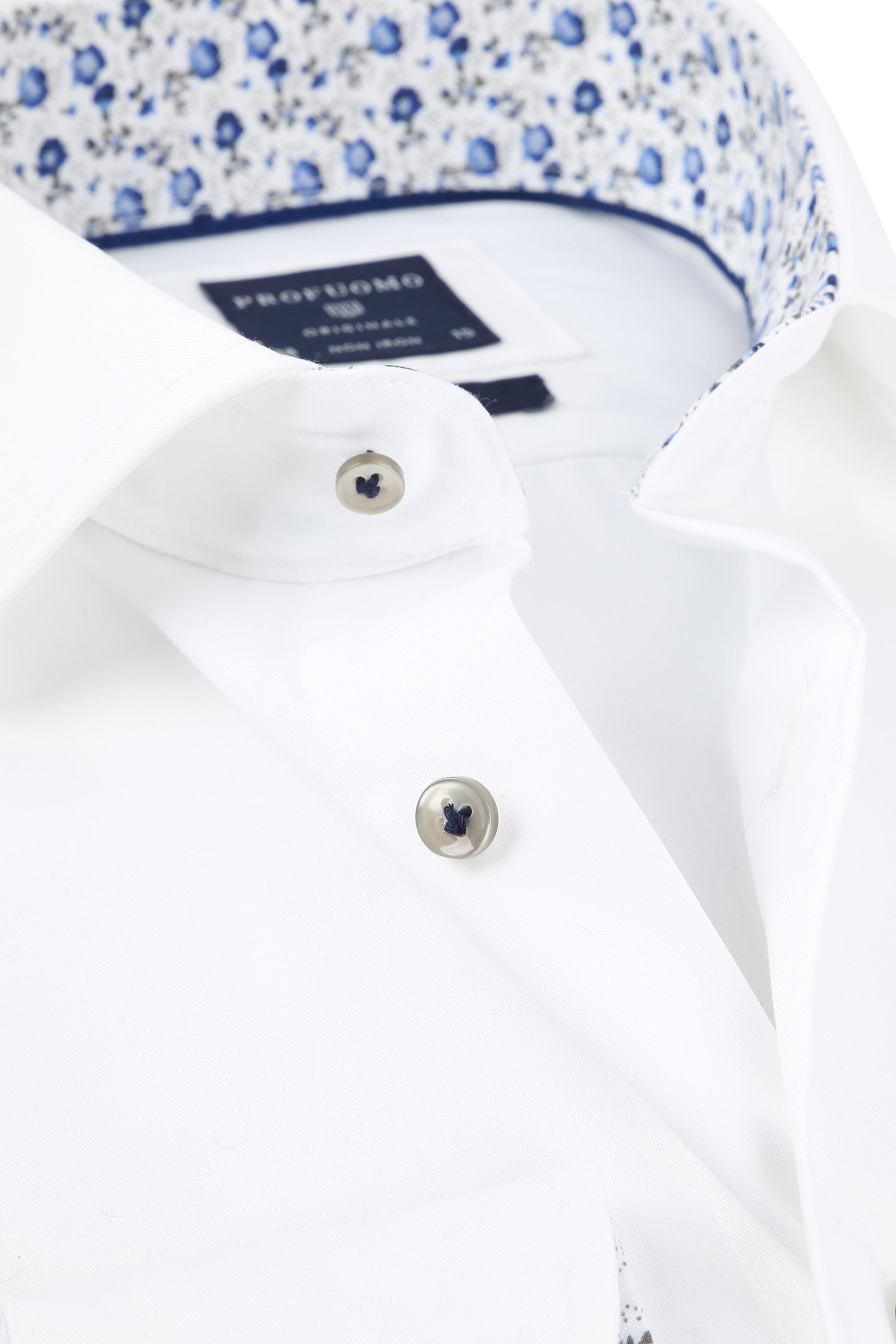 Profuomo Overhemd CAW White SF foto 1