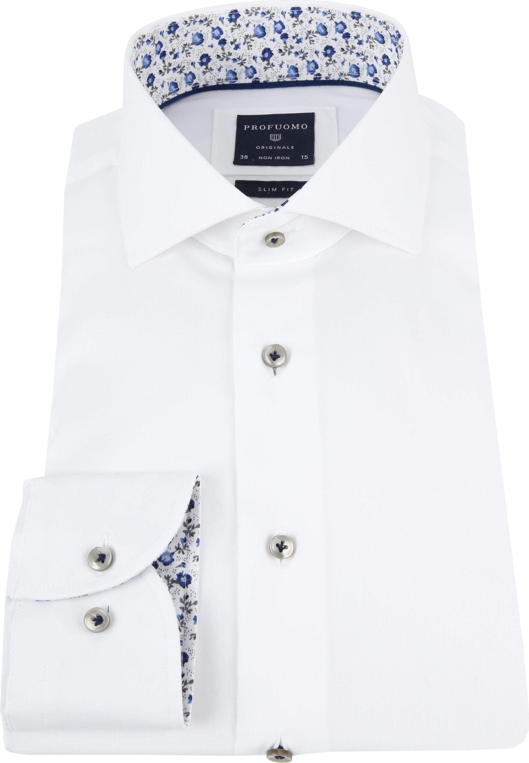 Profuomo Overhemd CAW White SF foto 2