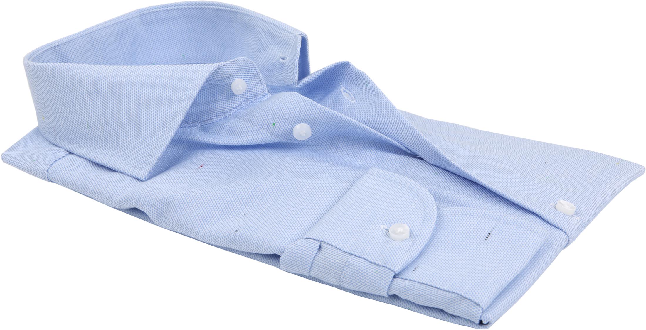 Profuomo Overhemd Dessin Blauw CAW foto 2