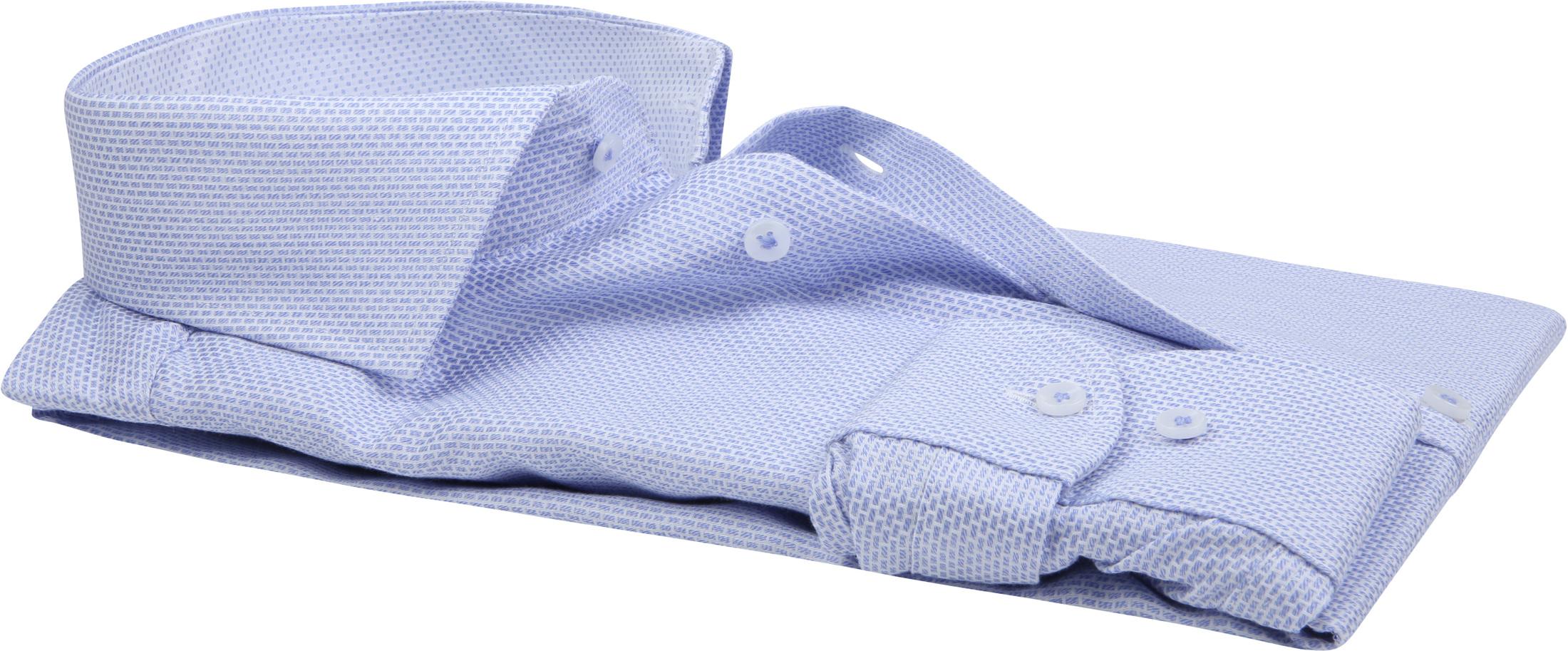 Profuomo Overhemd Dessin Blue foto 2