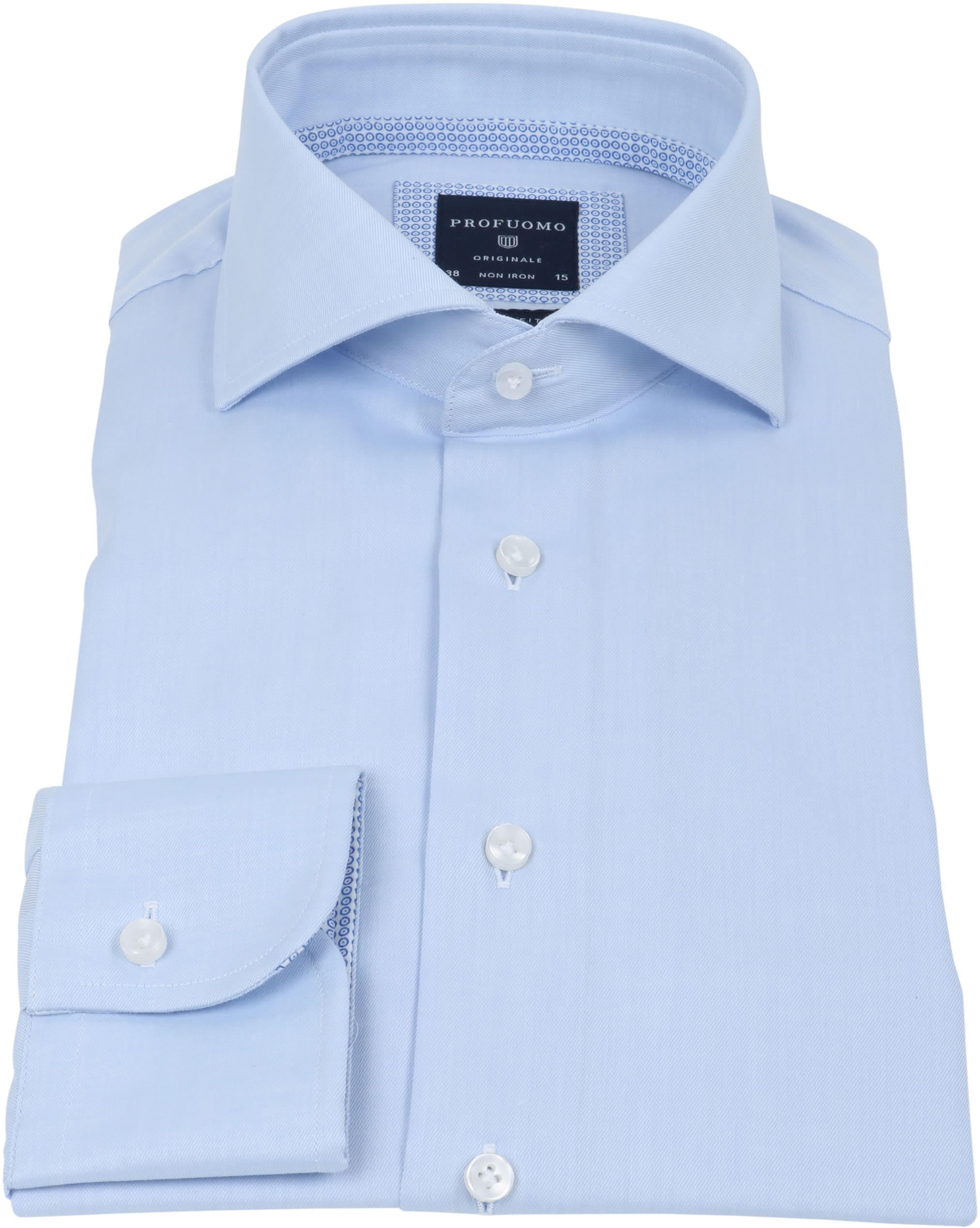 Profuomo Overhemd Lichtblauw foto 1