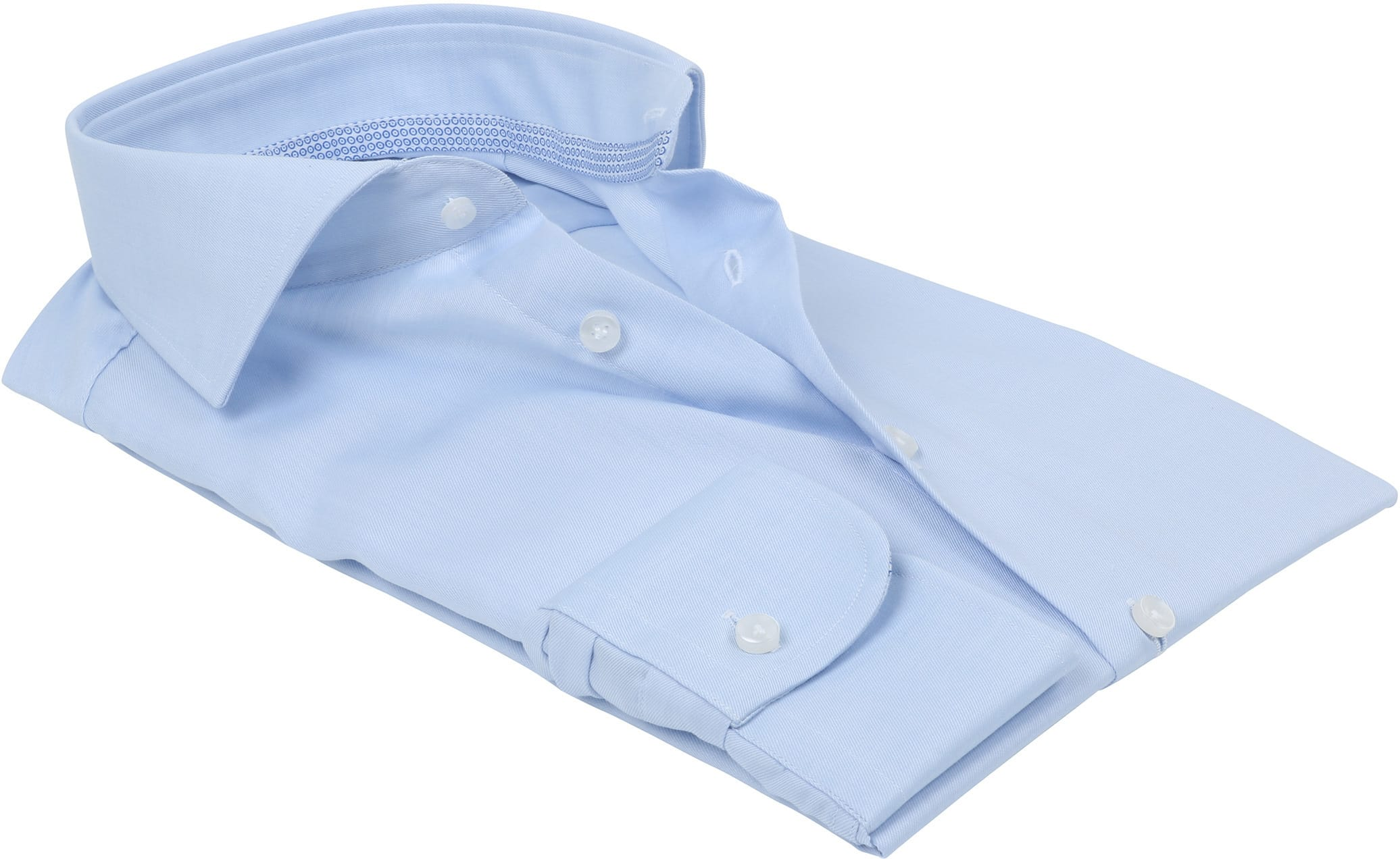 Profuomo Overhemd Lichtblauw foto 2