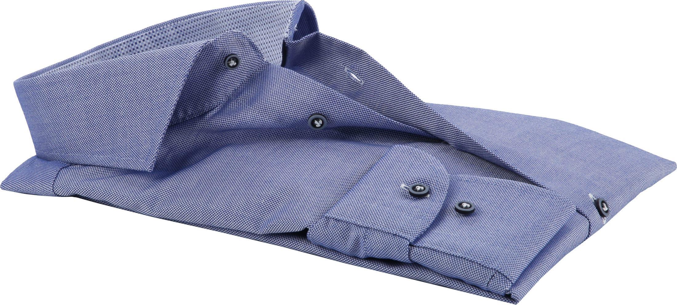 Profuomo Overhemd Navy CAW foto 2