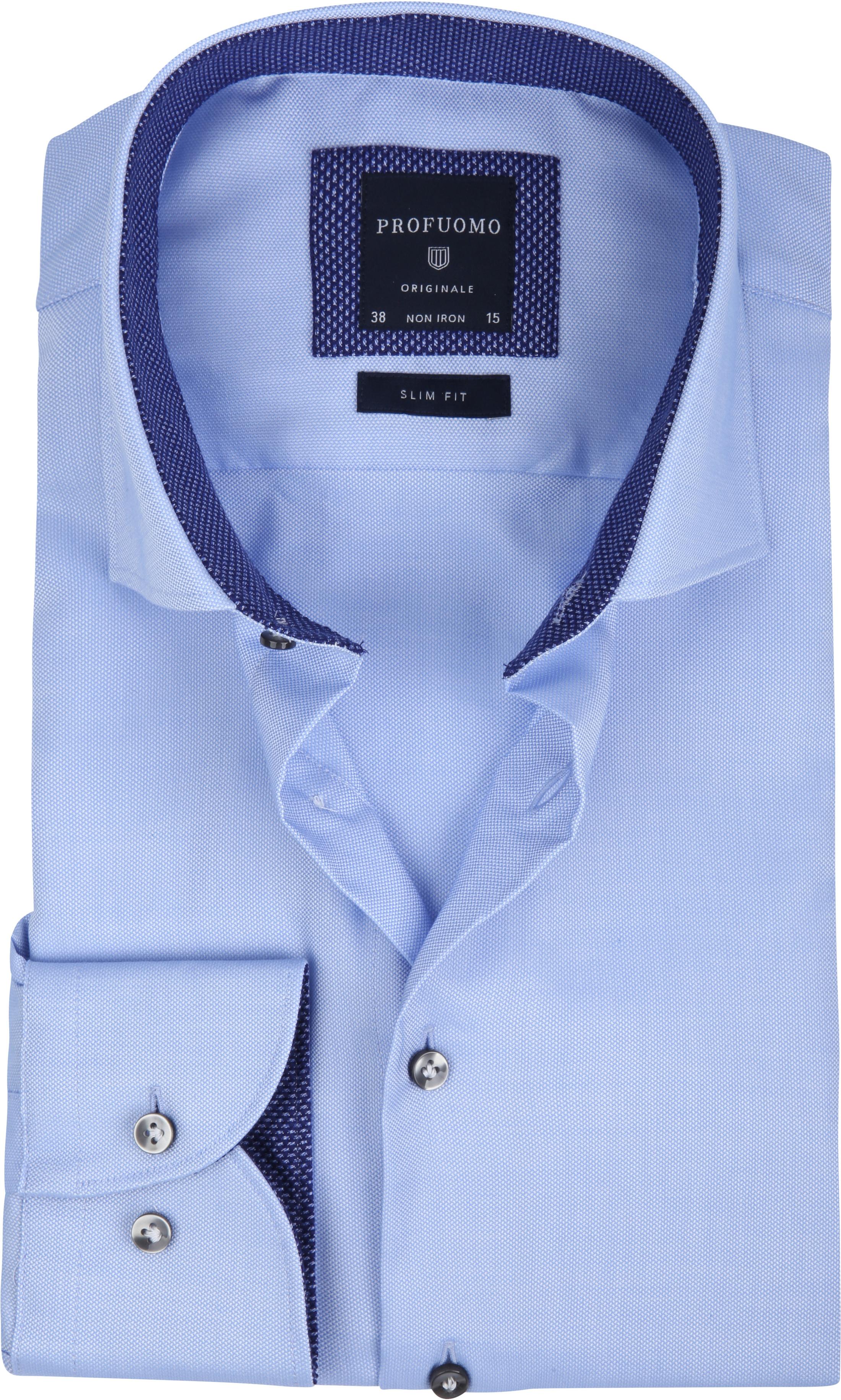 Profuomo Overhemd Non Iron Blauw foto 0