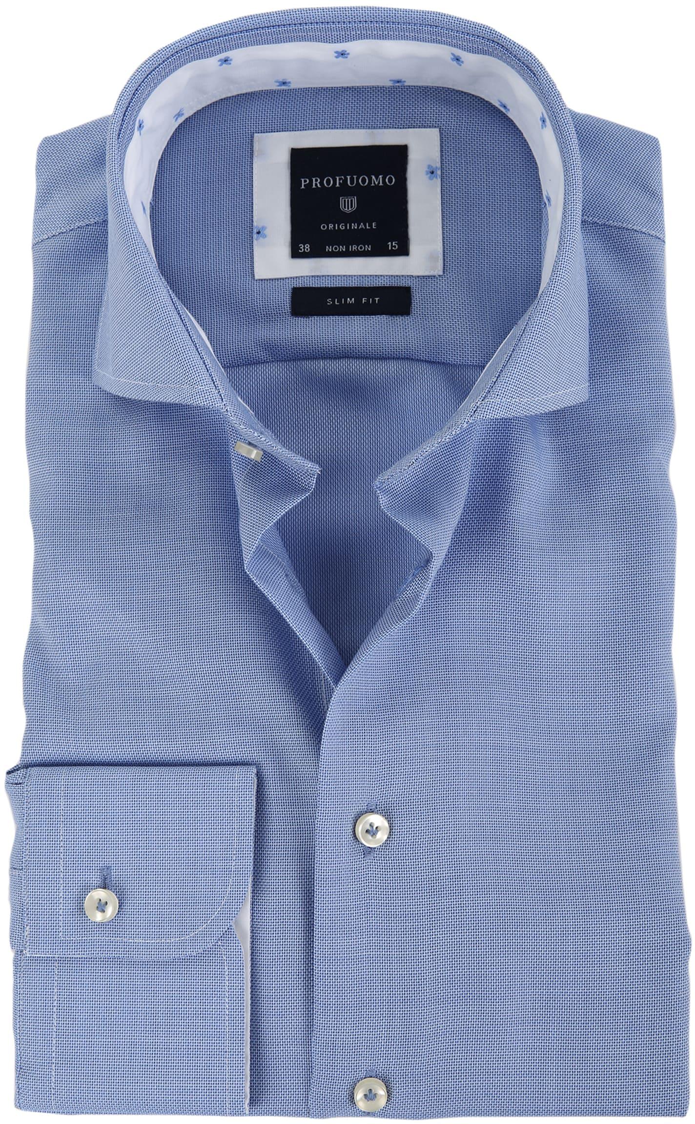 Profuomo Overhemd SC Blue foto 0