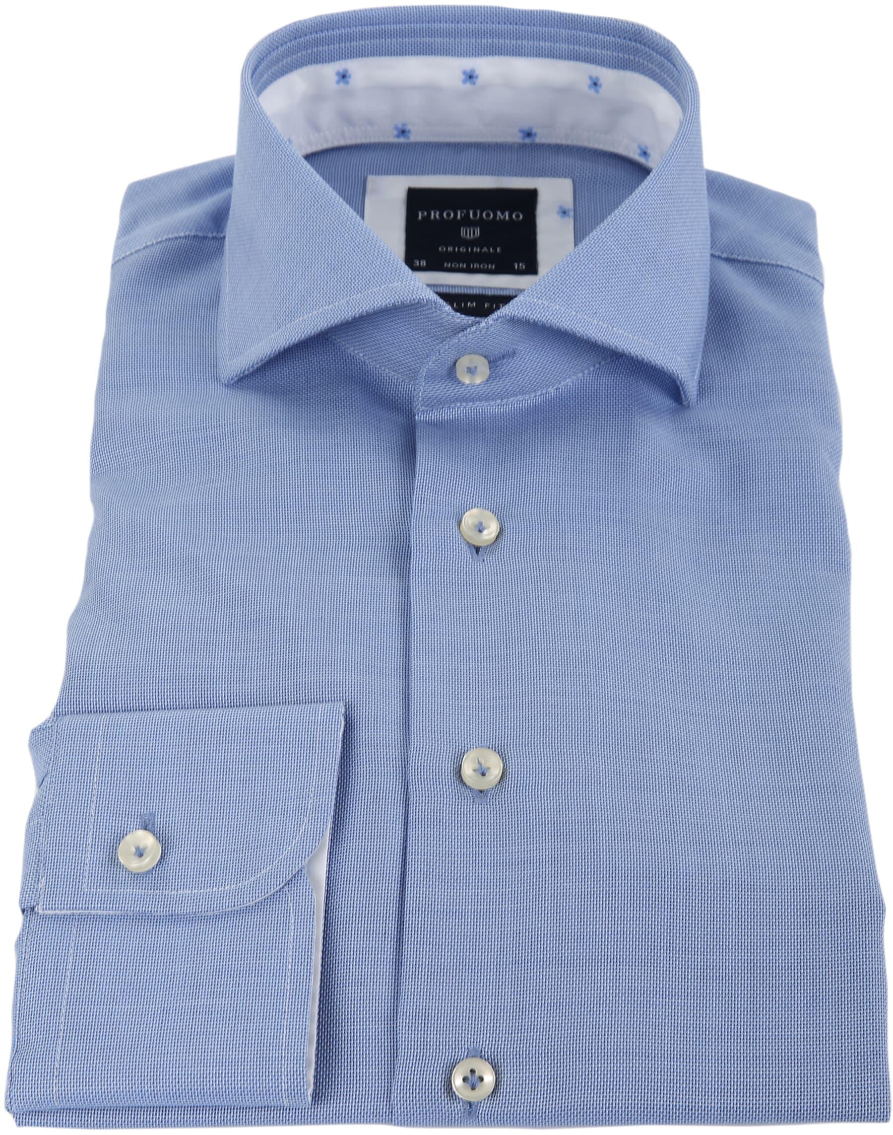 Profuomo Overhemd SC Blue foto 1