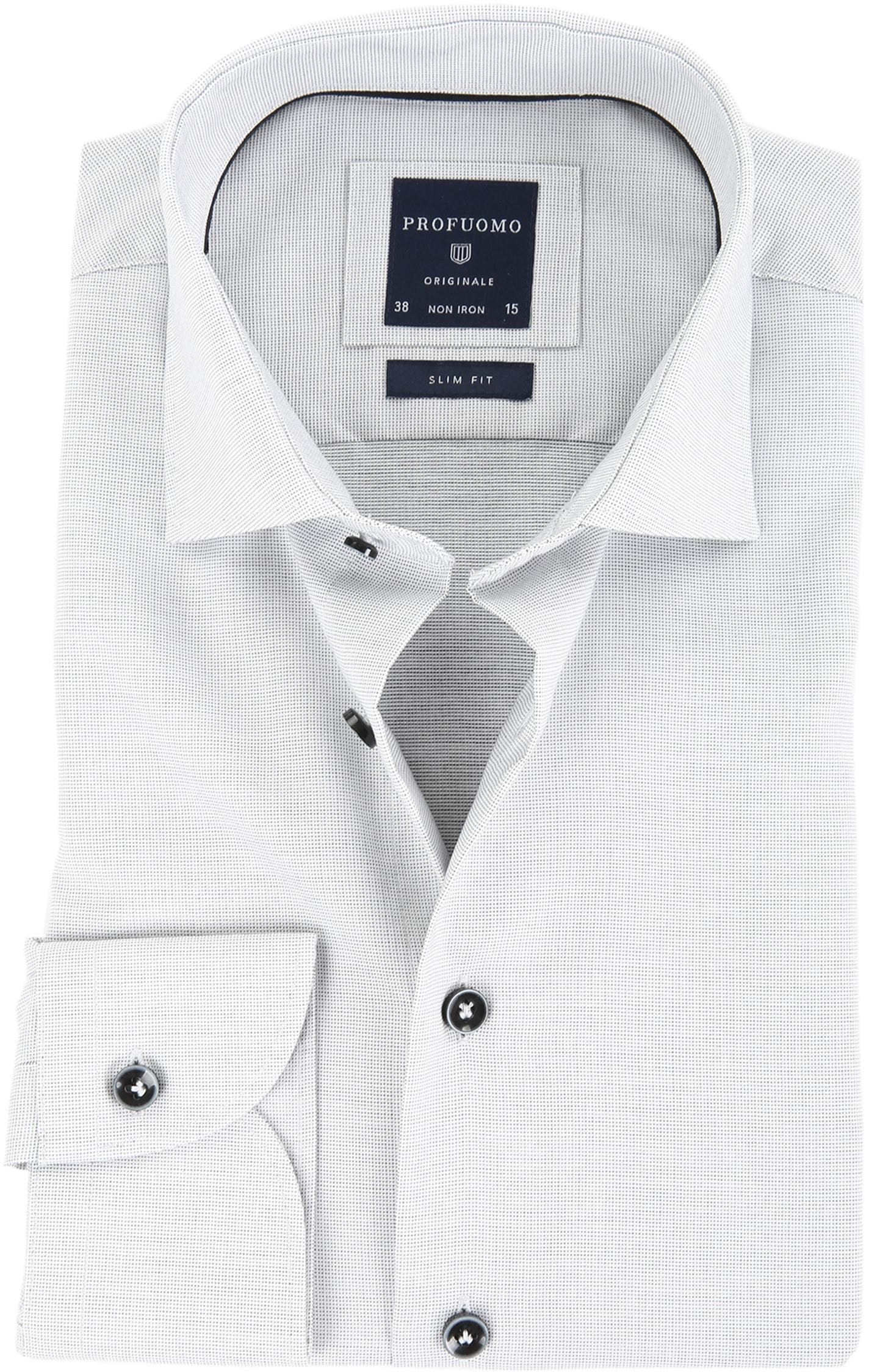 Profuomo Overhemd SC Grey foto 0