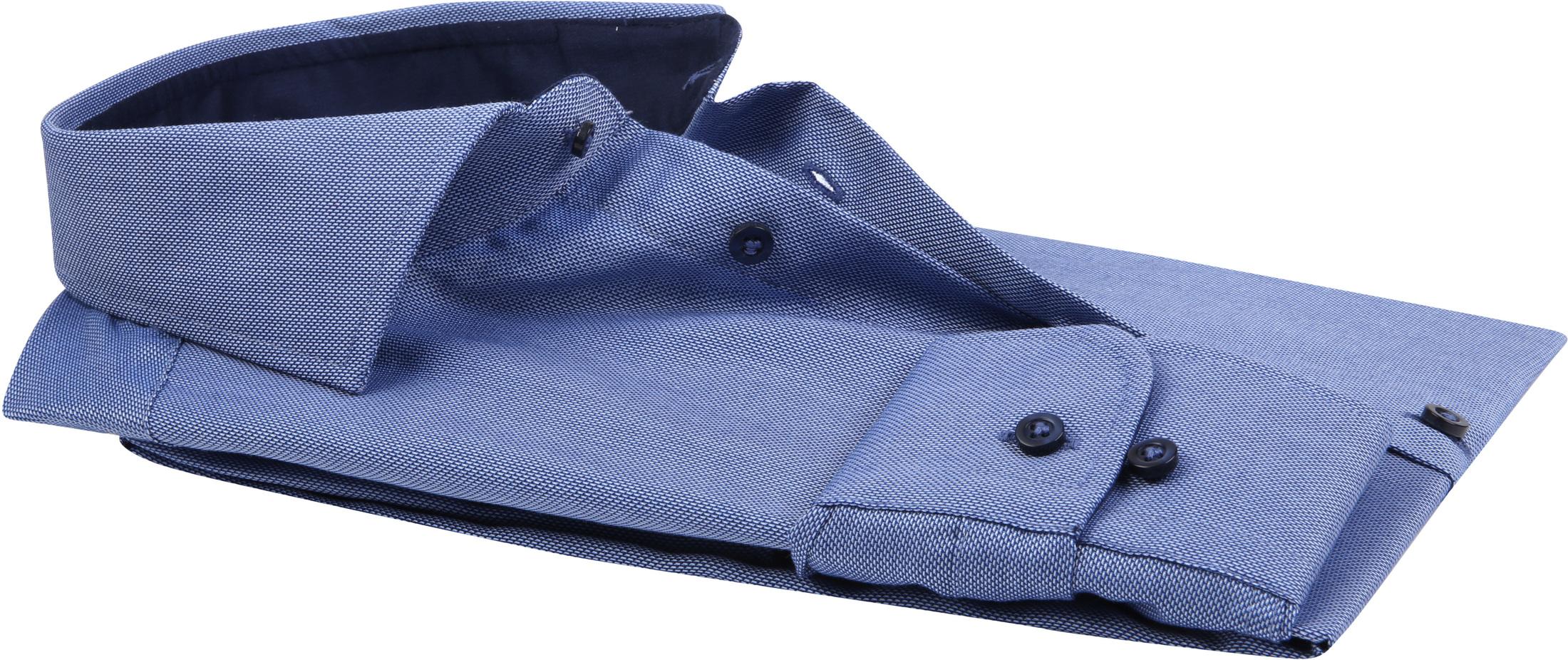 Profuomo Overhemd SF Non Iron Blauw foto 3
