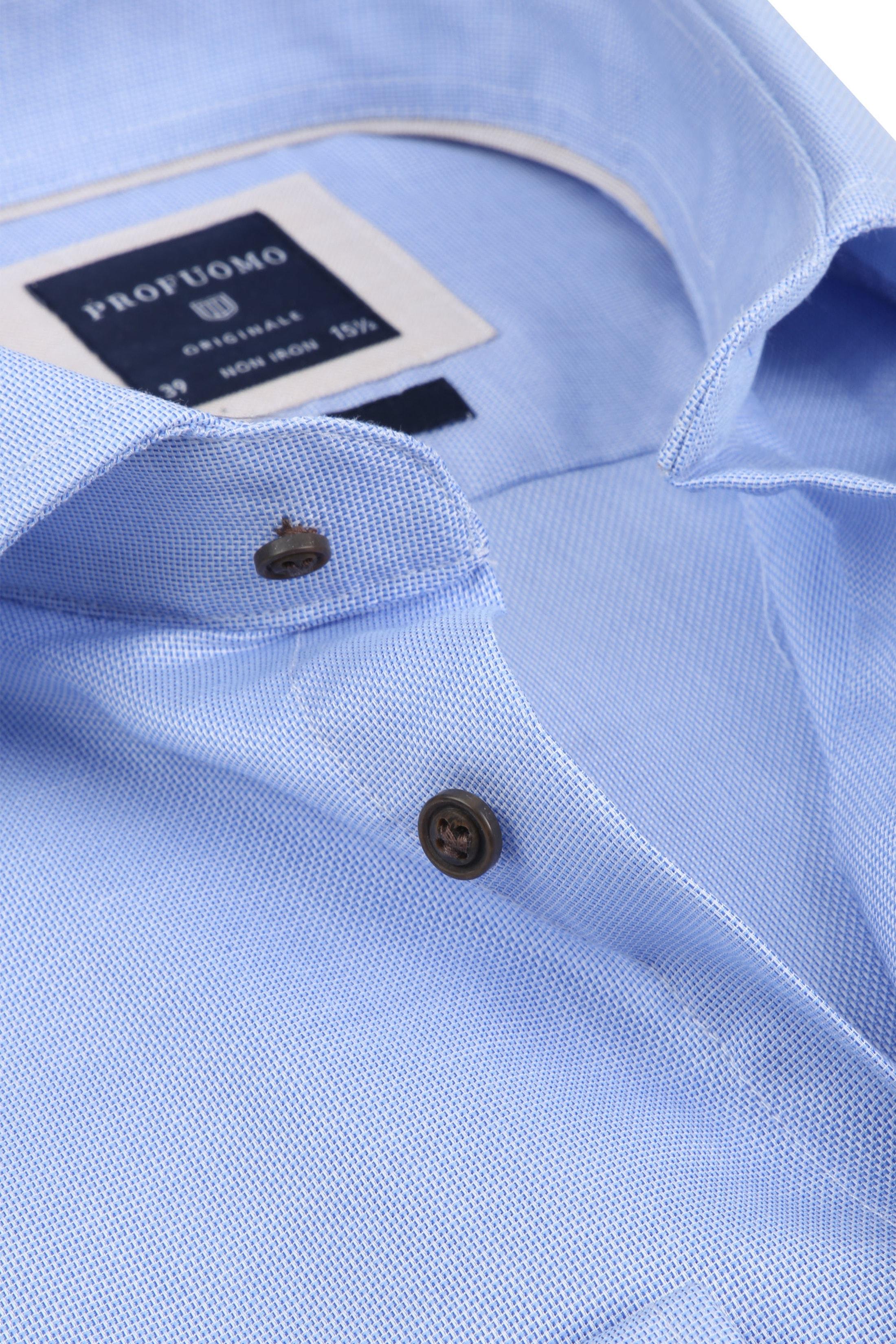 Profuomo Overhemd SF Non Iron Lichtblauw foto 1