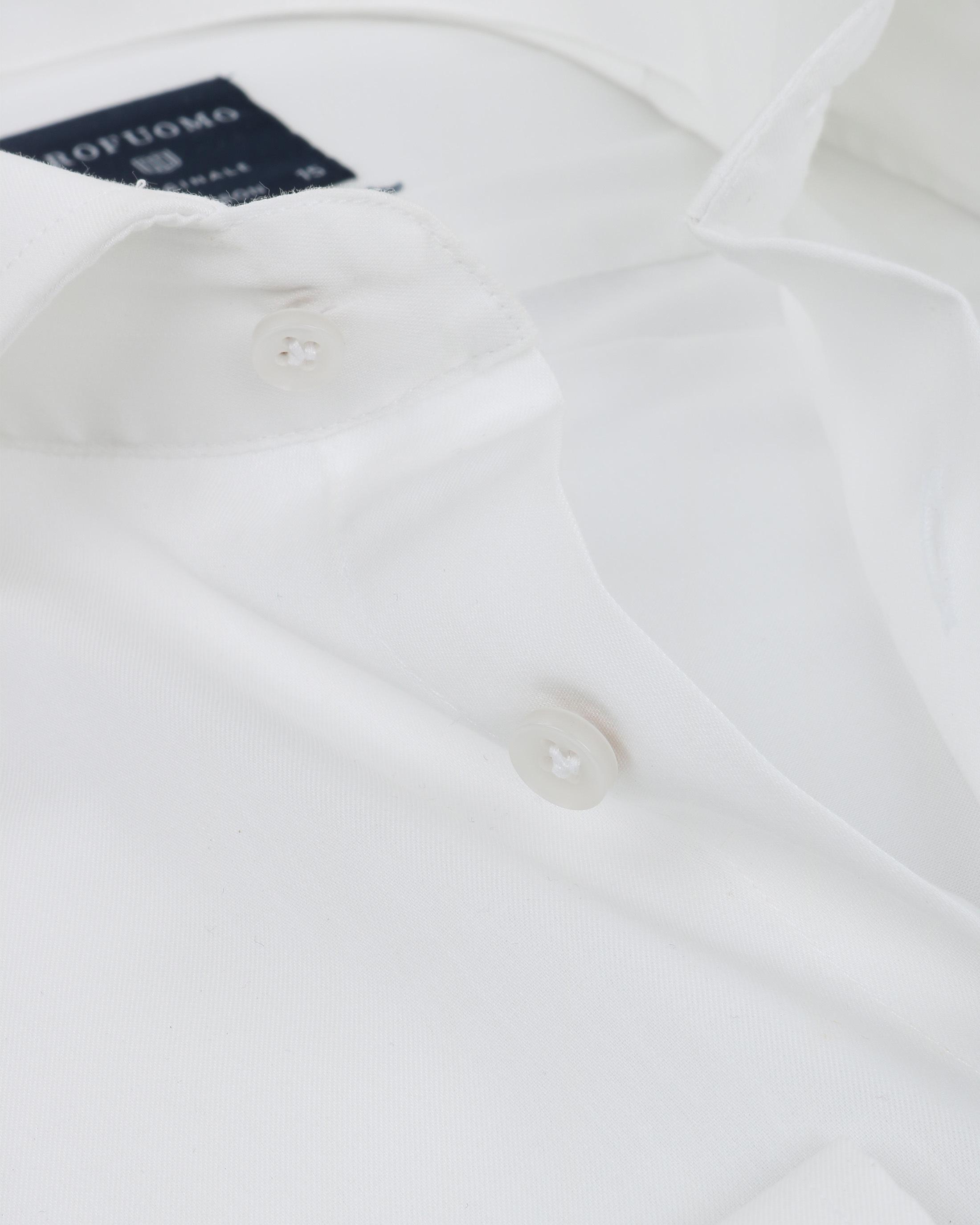 Profuomo Overhemd SF Off White foto 1
