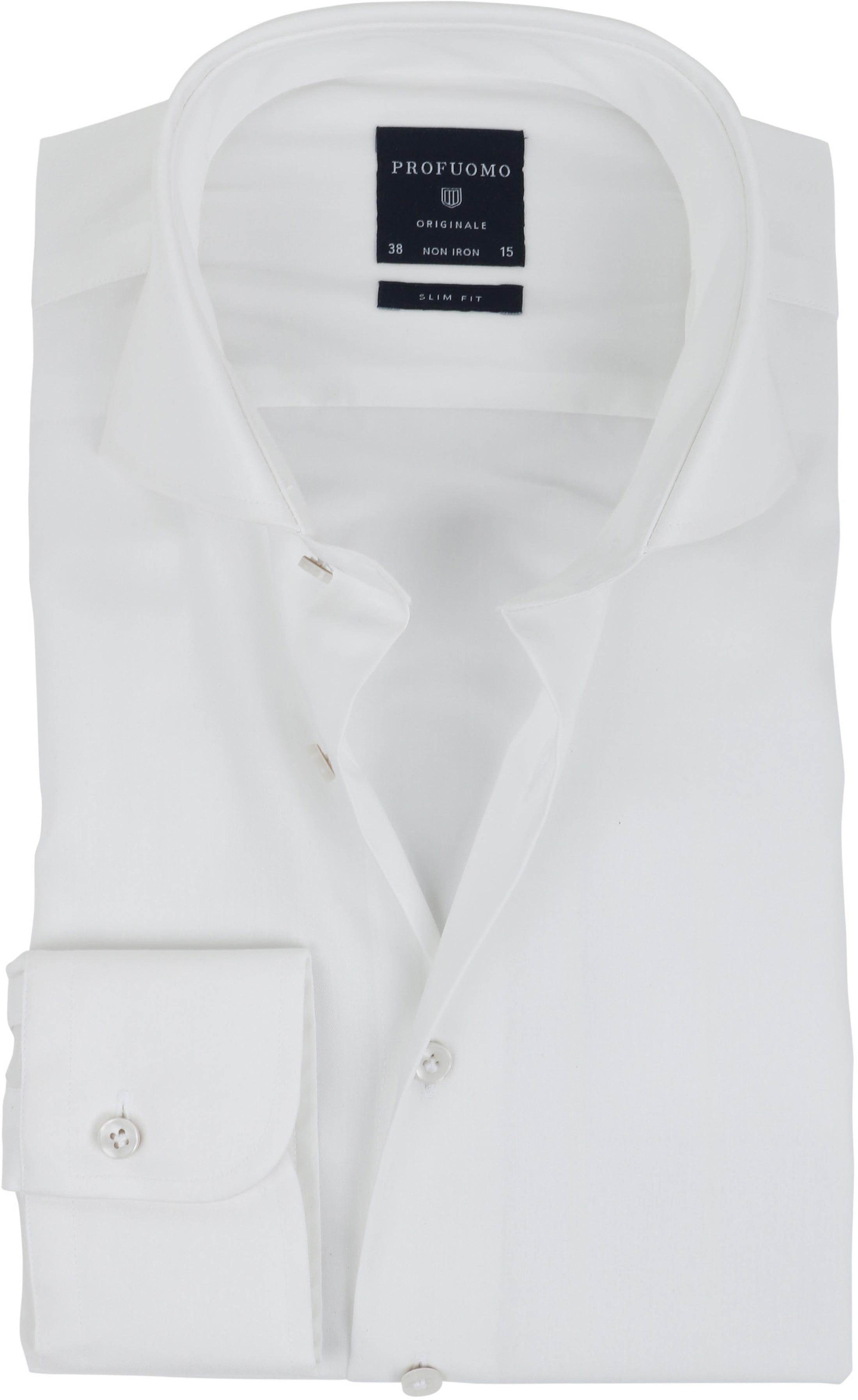 Profuomo Overhemd SF Off White foto 0