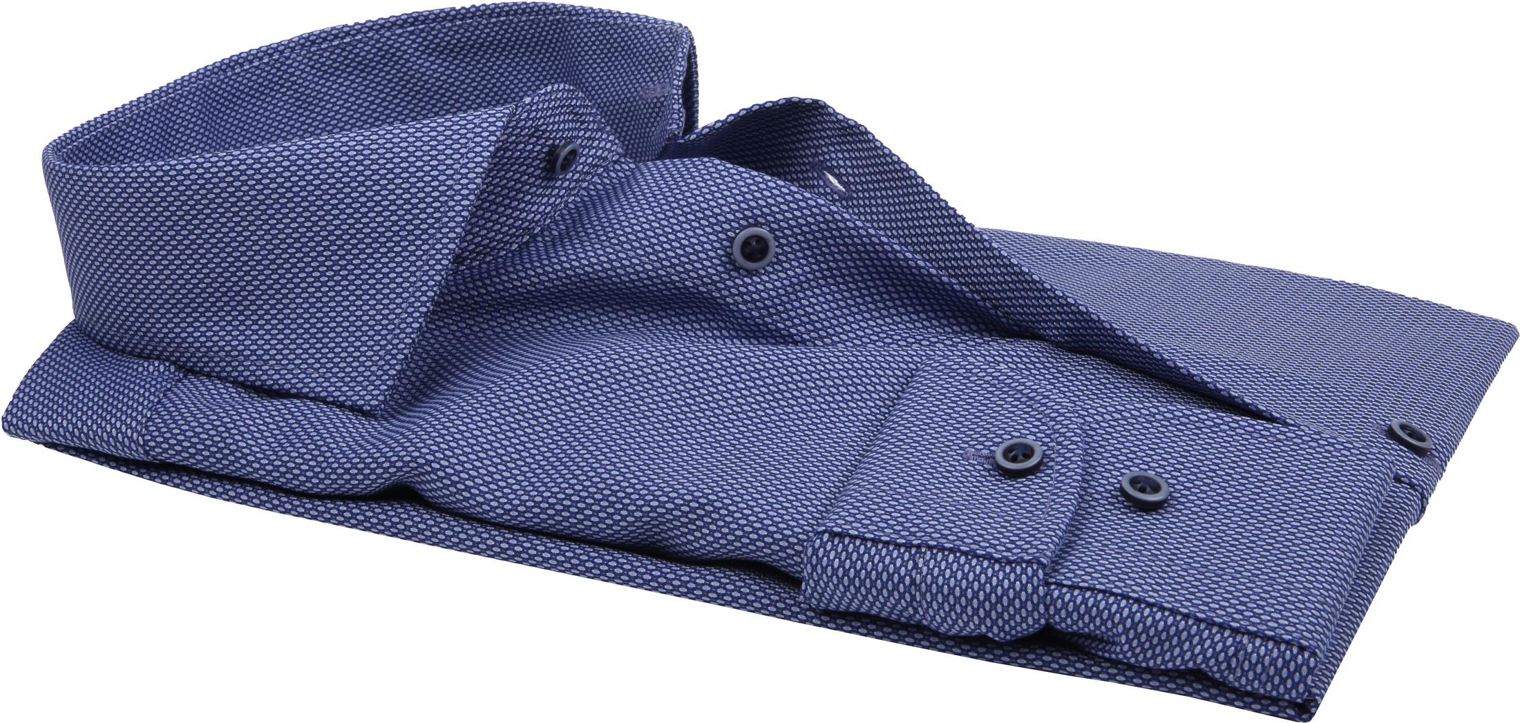 Profuomo Overhemd Slim-Fit Non Iron Blauw foto 2