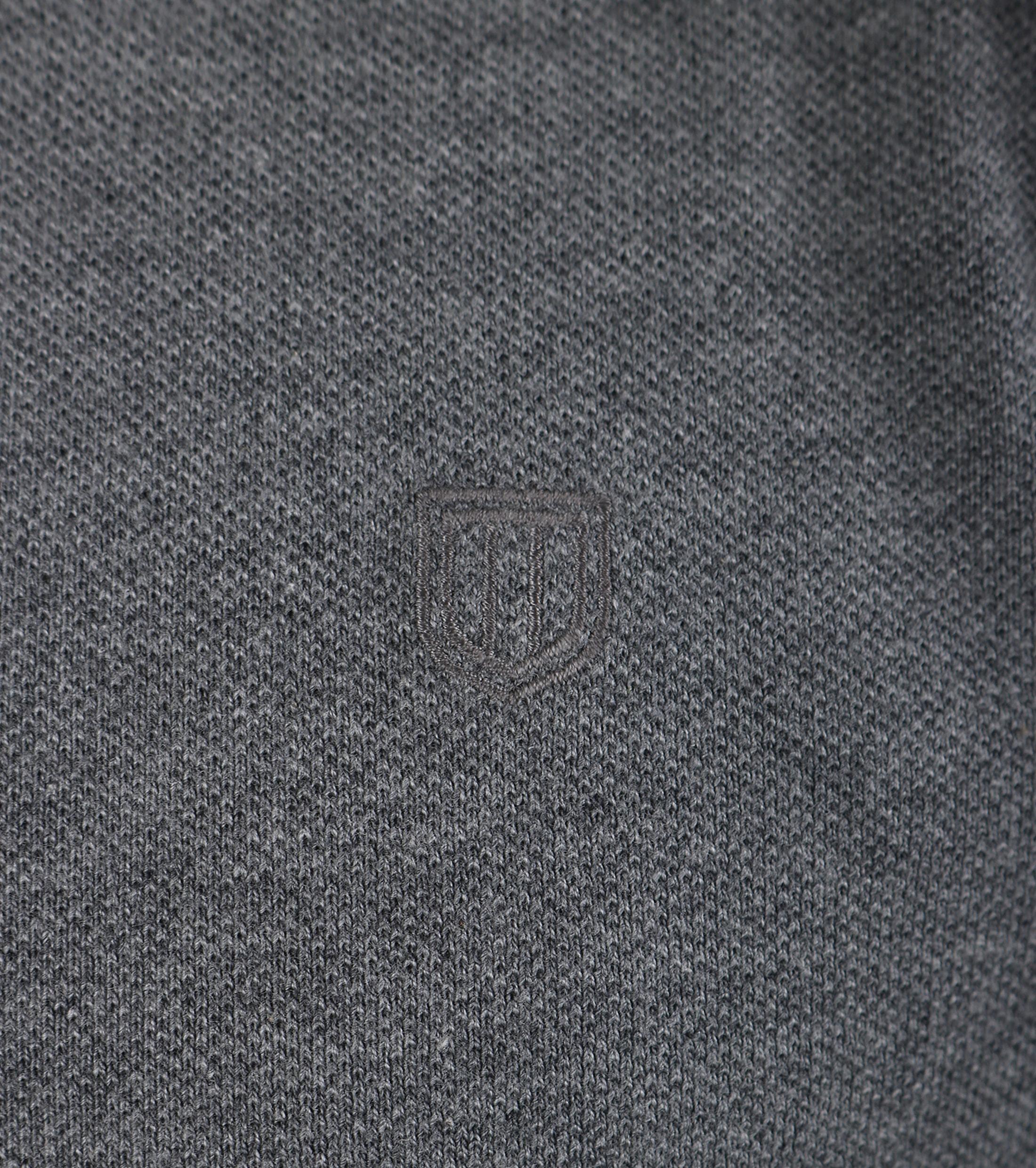 Profuomo Poloshirt Antraciet foto 2