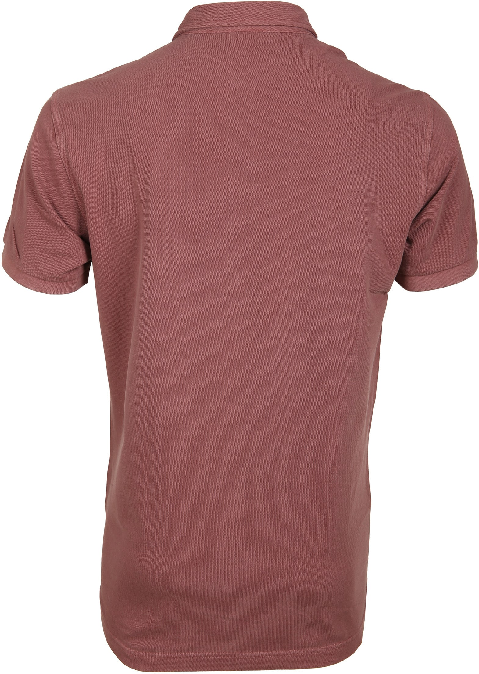Profuomo Poloshirt Garment Bordeaux foto 2