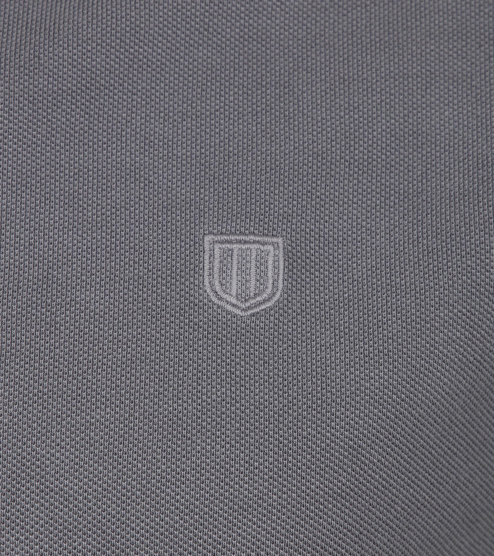 Profuomo Poloshirt Garment Grey foto 1