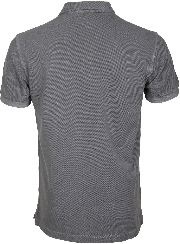Profuomo Poloshirt Garment Grey foto 2