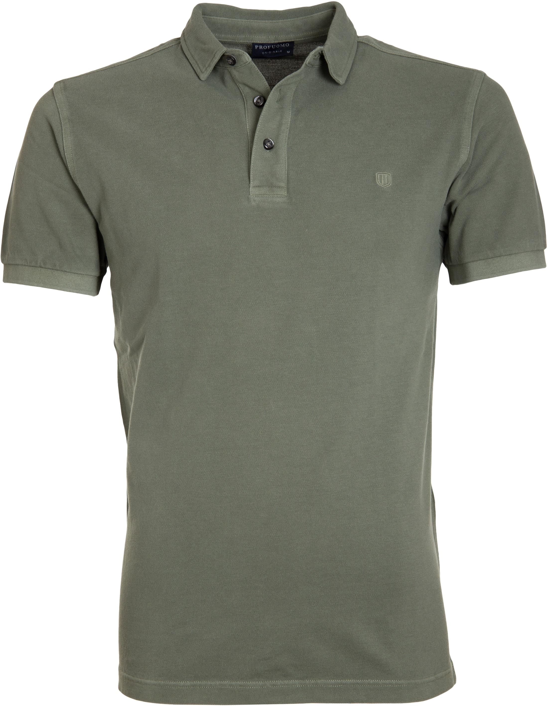 Profuomo Poloshirt Garment Groen foto 0