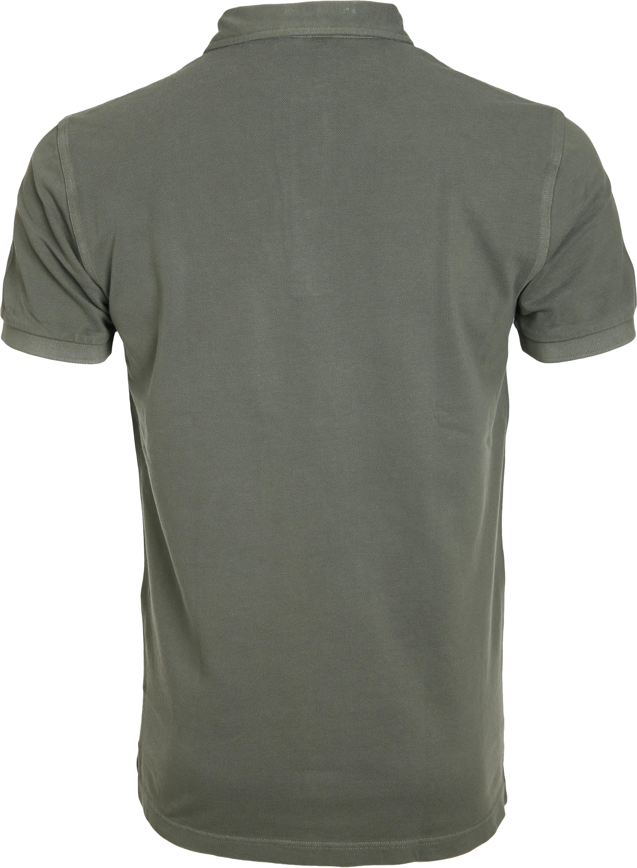 Profuomo Poloshirt Garment Groen foto 2