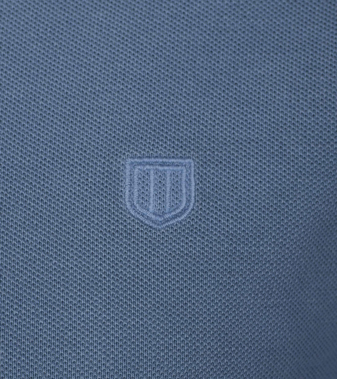 Profuomo Poloshirt Garment Indigo foto 1