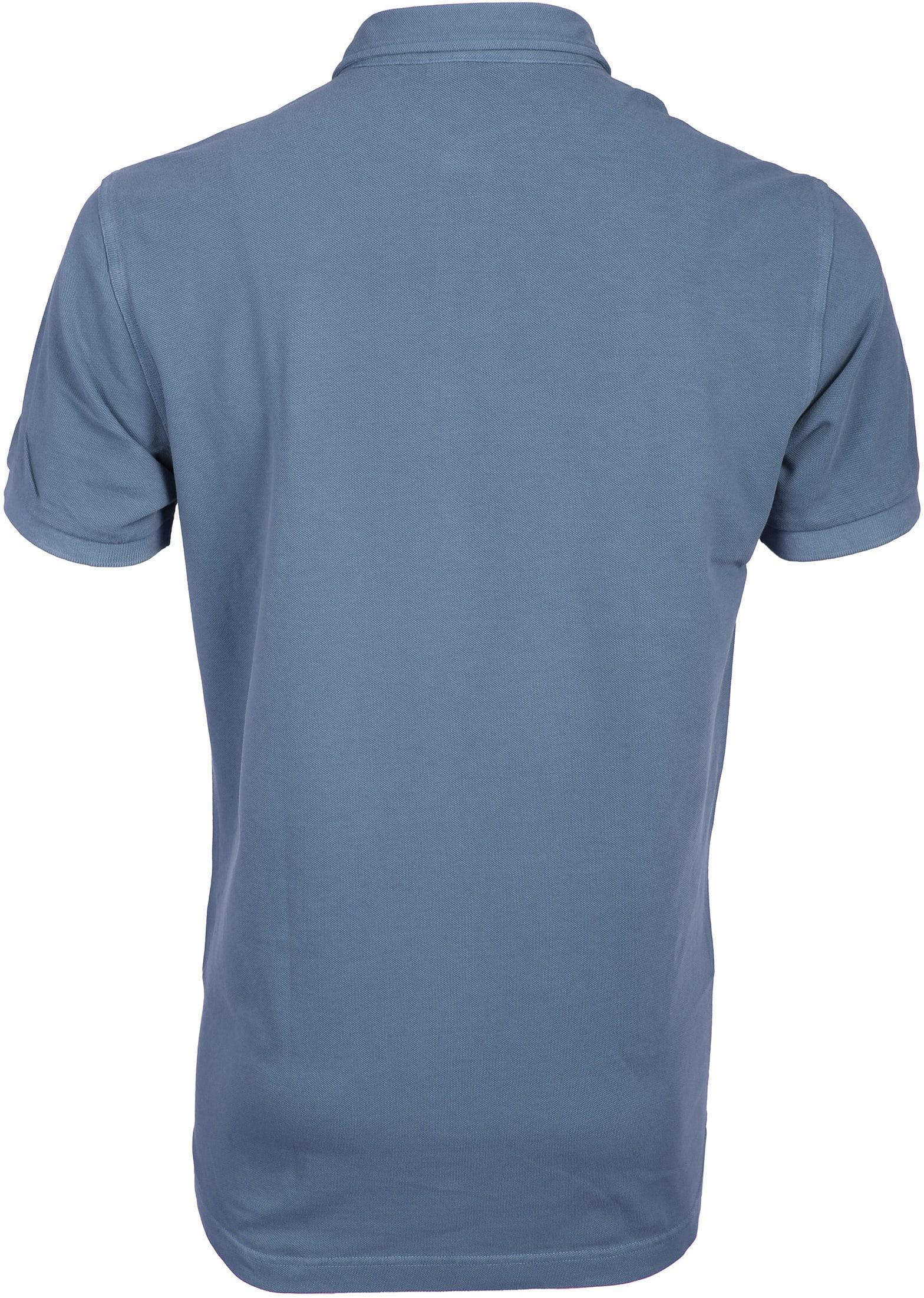 Profuomo Poloshirt Garment Indigo foto 2