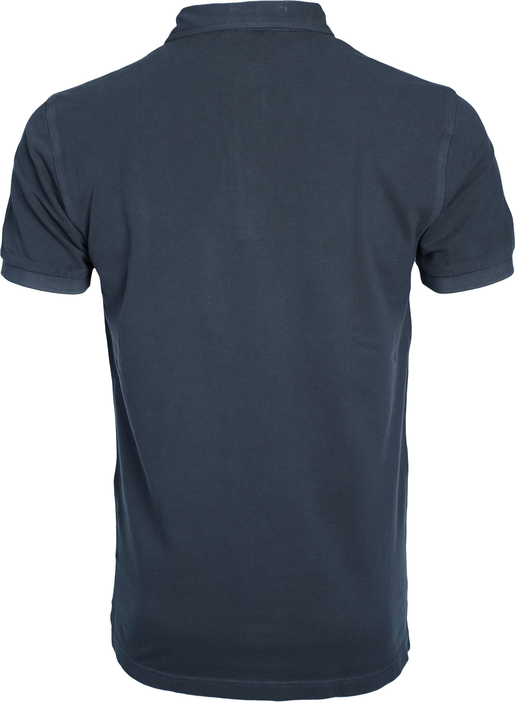 Profuomo Poloshirt Garment Navy foto 2