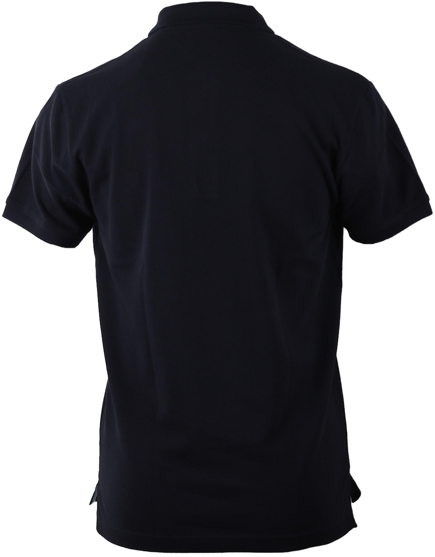 Profuomo Poloshirt Navy foto 1