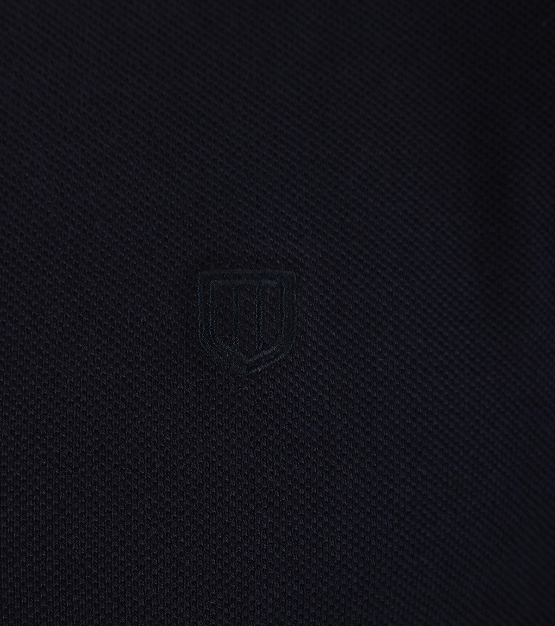 Profuomo Poloshirt Navy foto 2