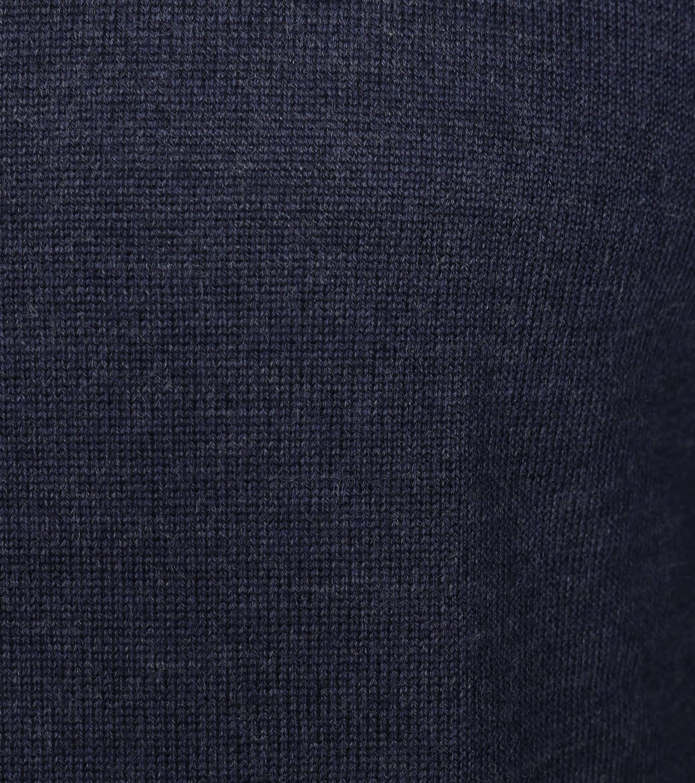 Profuomo Pullover O-Ausschnitt dunkelblau foto 1