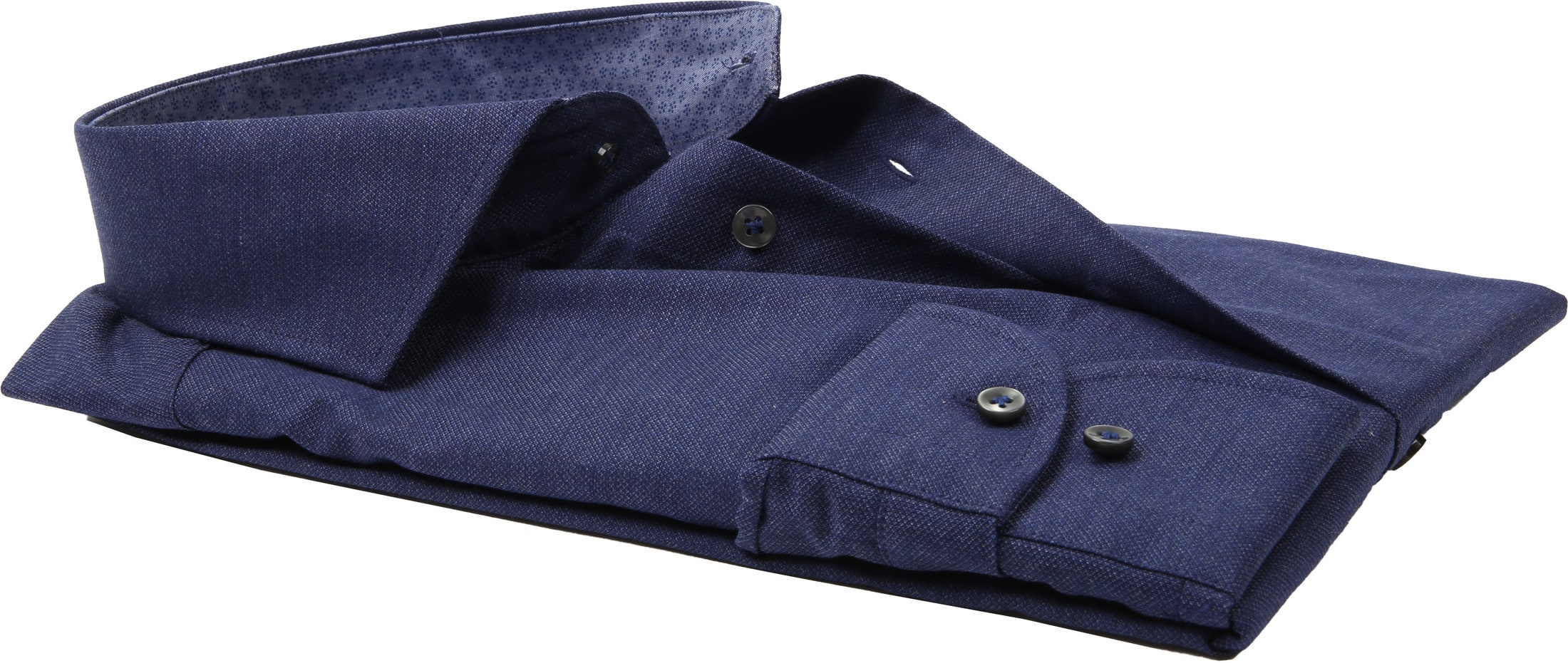Profuomo SF Overhemd Navy foto 3