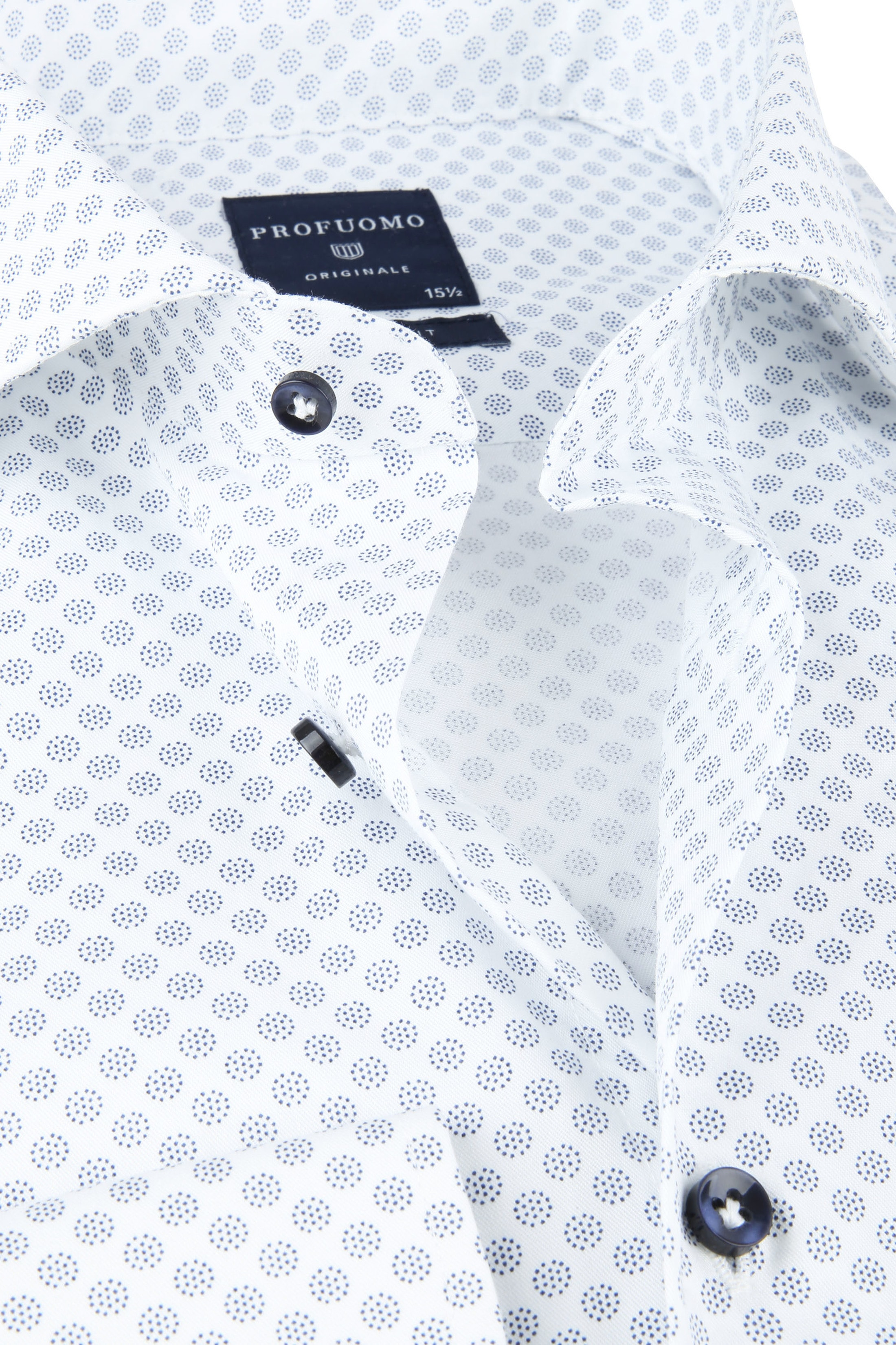 Profuomo SF Shirt Dots Blue foto 1