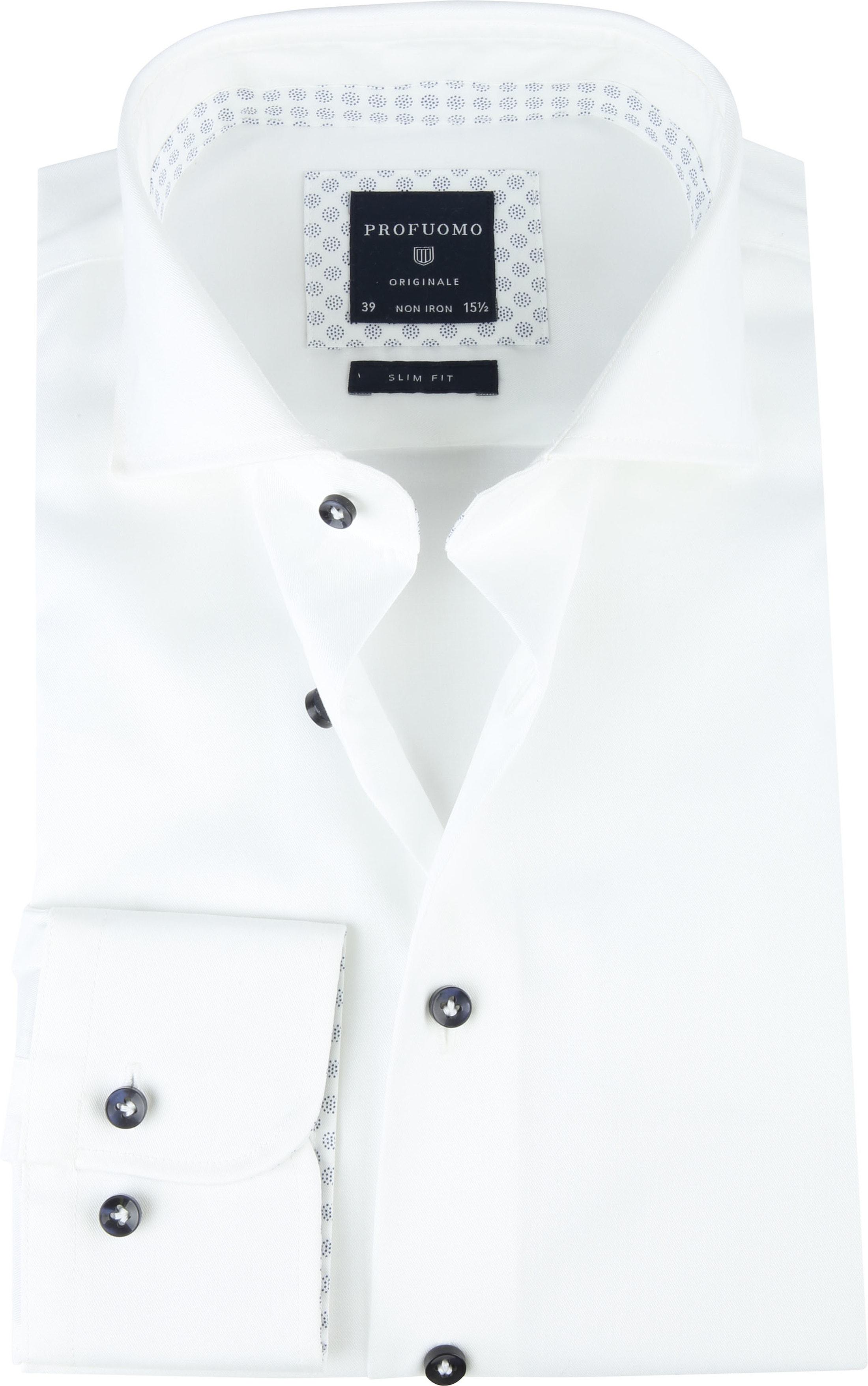 Profuomo SF Shirt Twill White photo 0