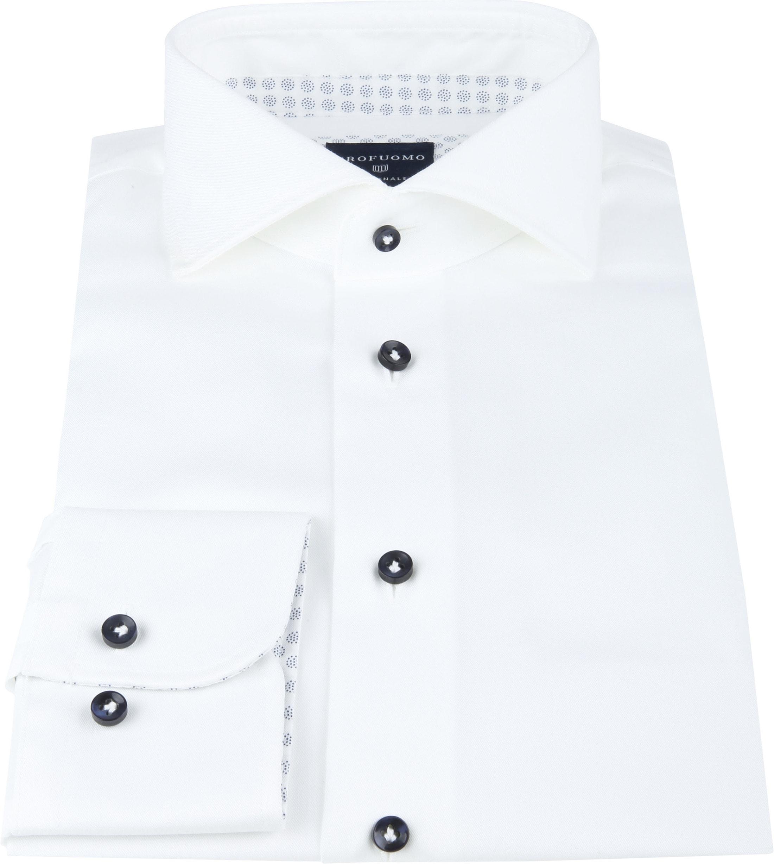 Profuomo SF Shirt Twill White photo 2