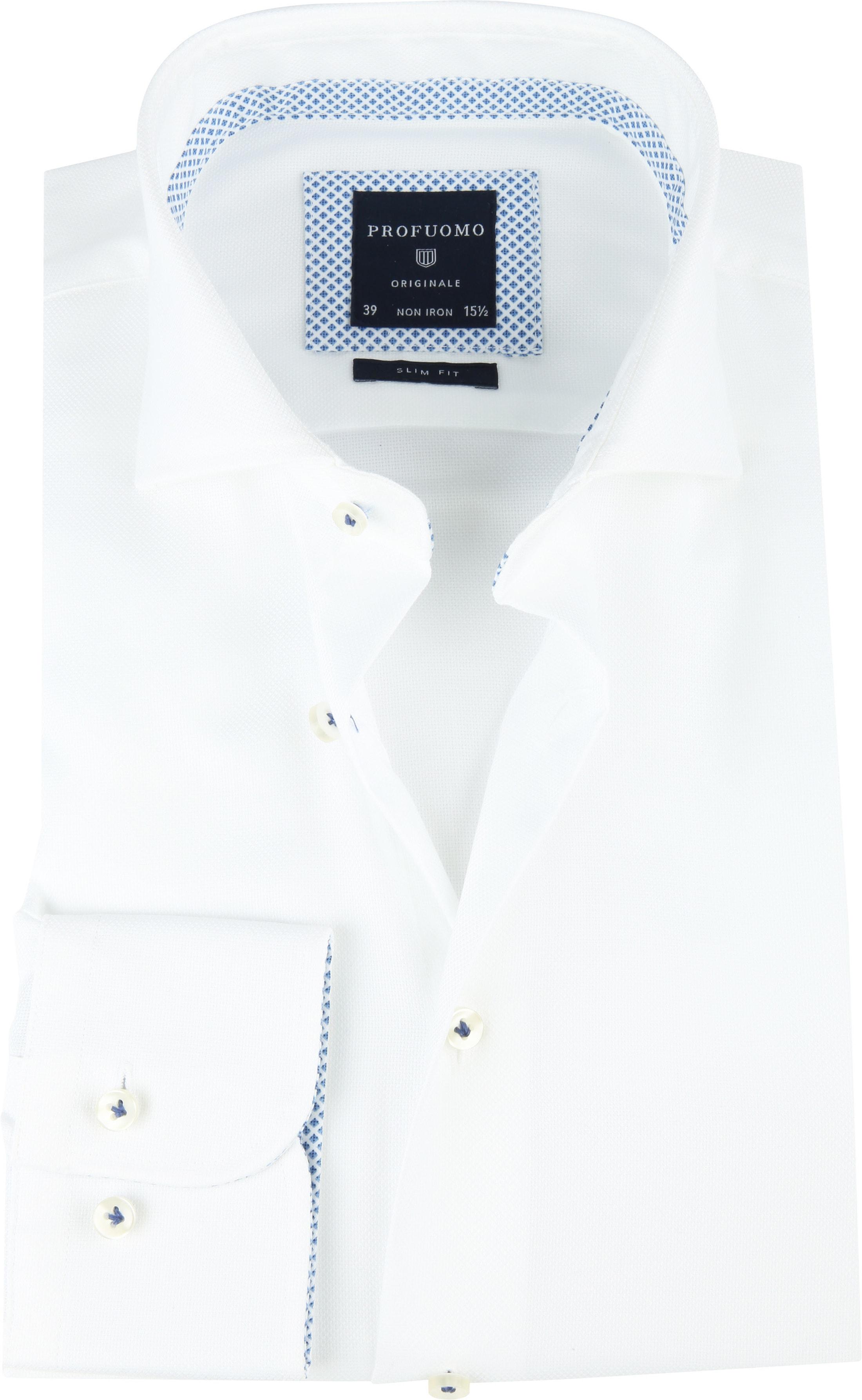 Profuomo SF Shirt Woven White foto 0