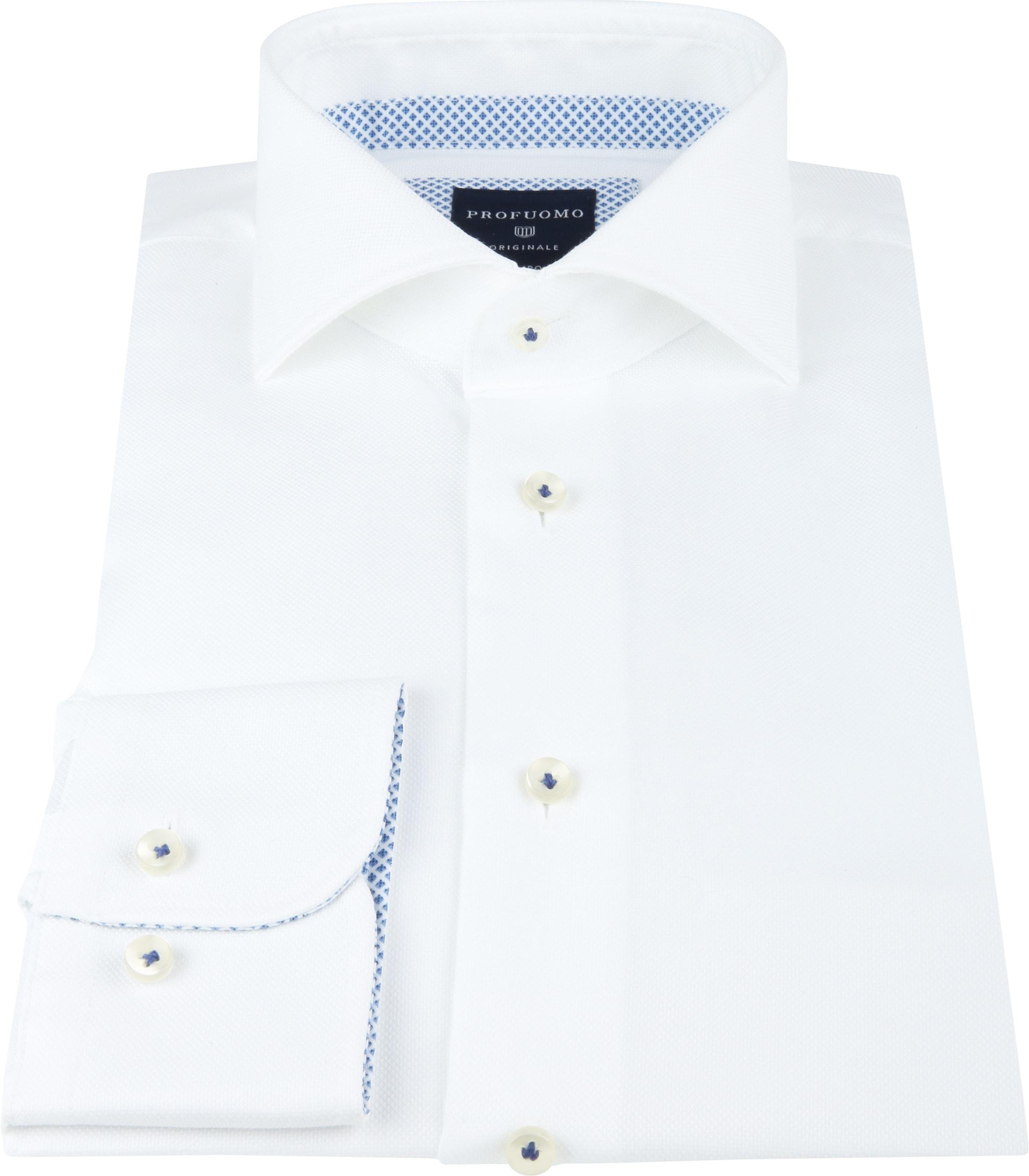 Profuomo SF Shirt Woven White foto 2