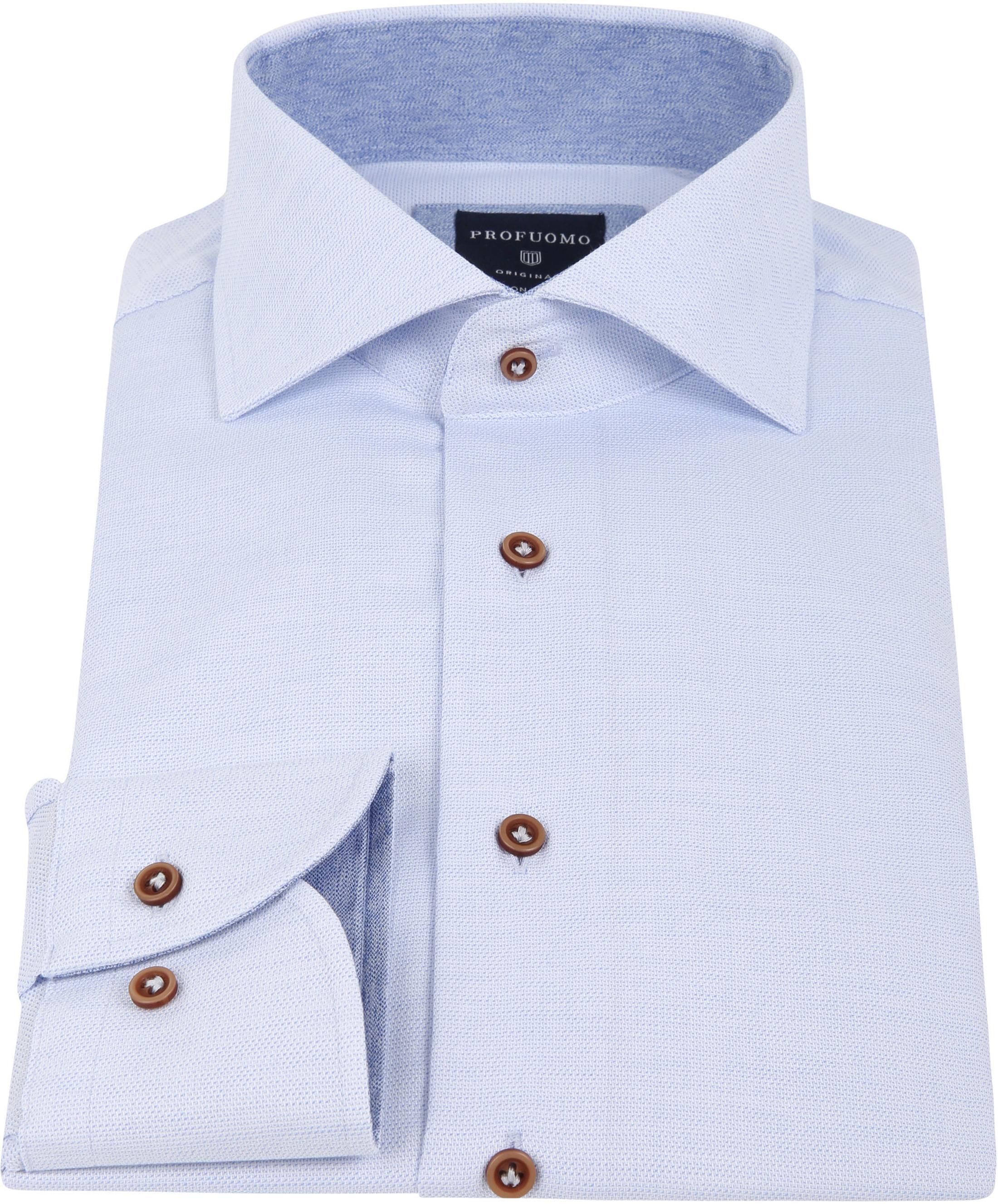 Profuomo Shirt Blue SF foto 2
