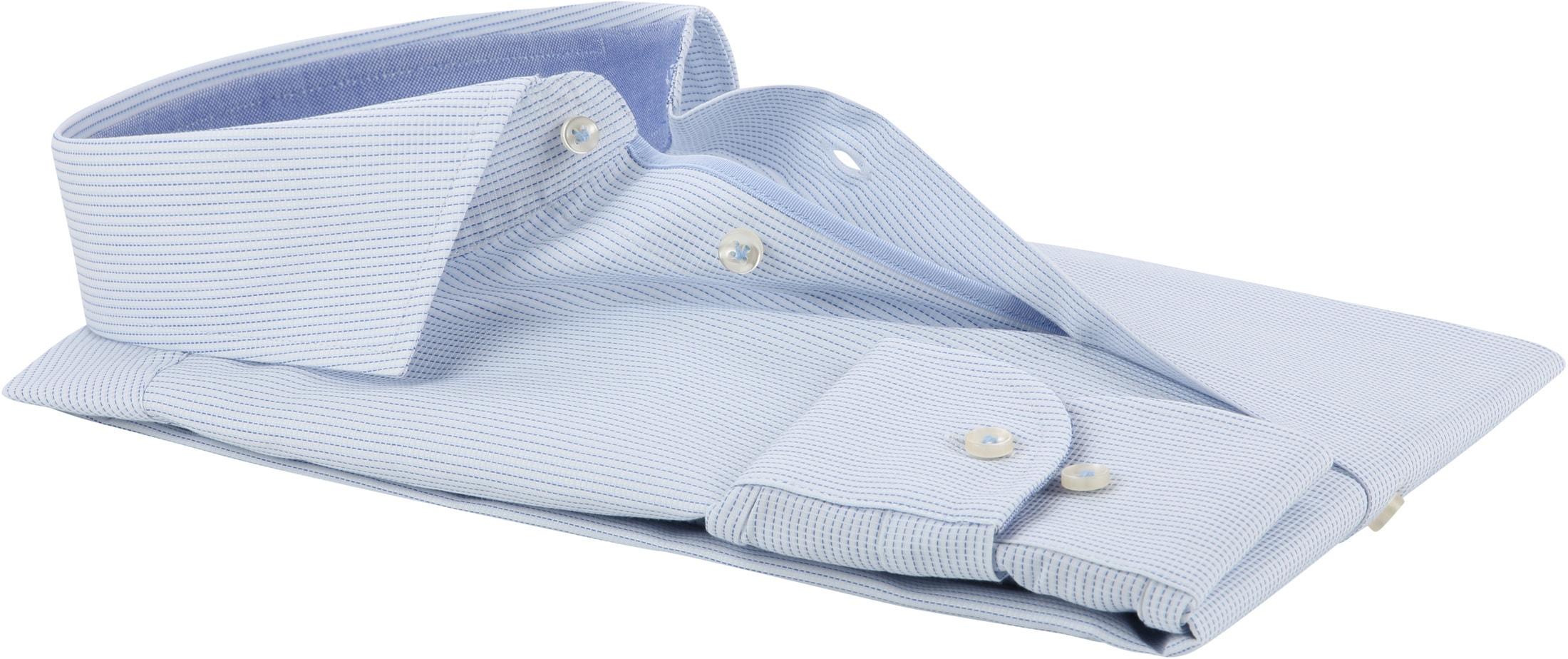 Profuomo Shirt CAW Light Blue Dessin foto 2