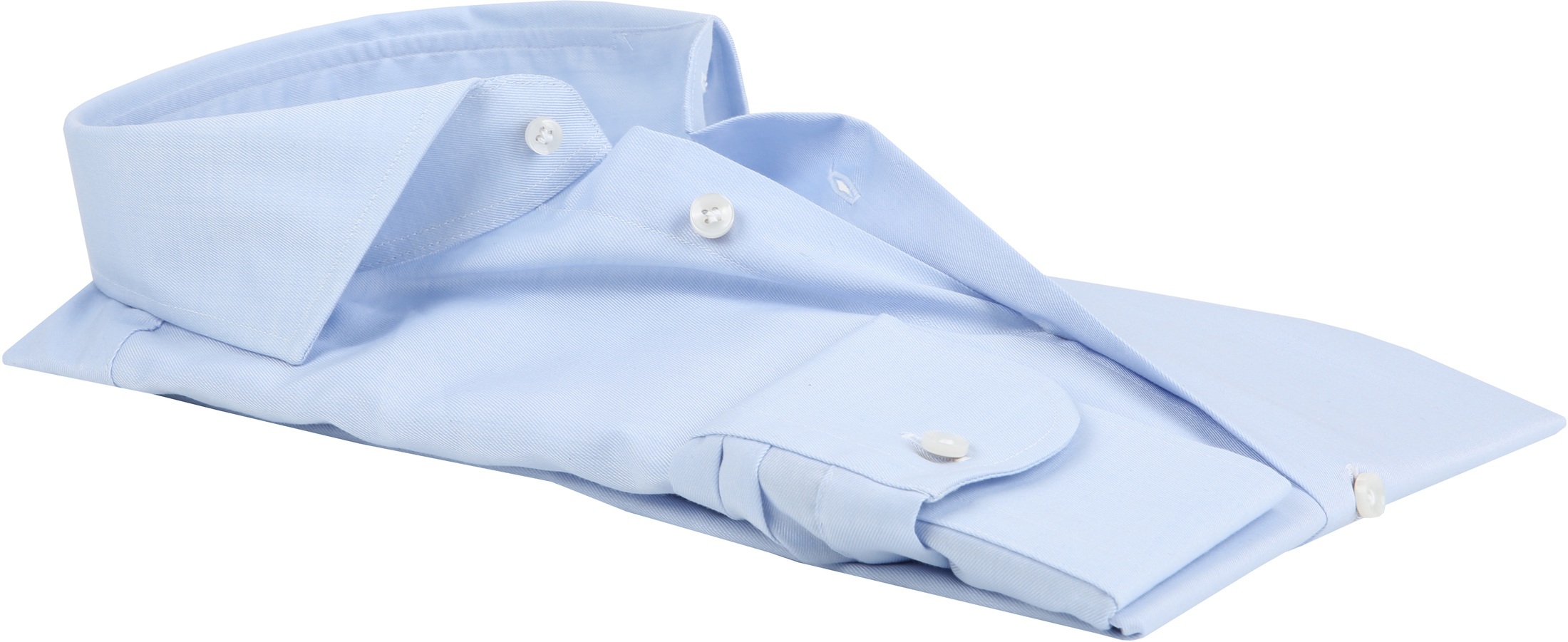 Profuomo Shirt Cutaway Blue foto 3