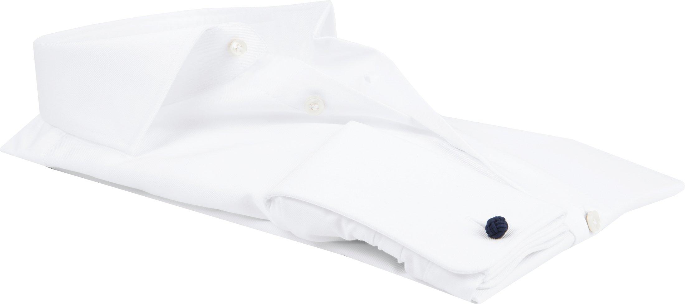 Profuomo Shirt Cutaway Double Cuff White foto 3