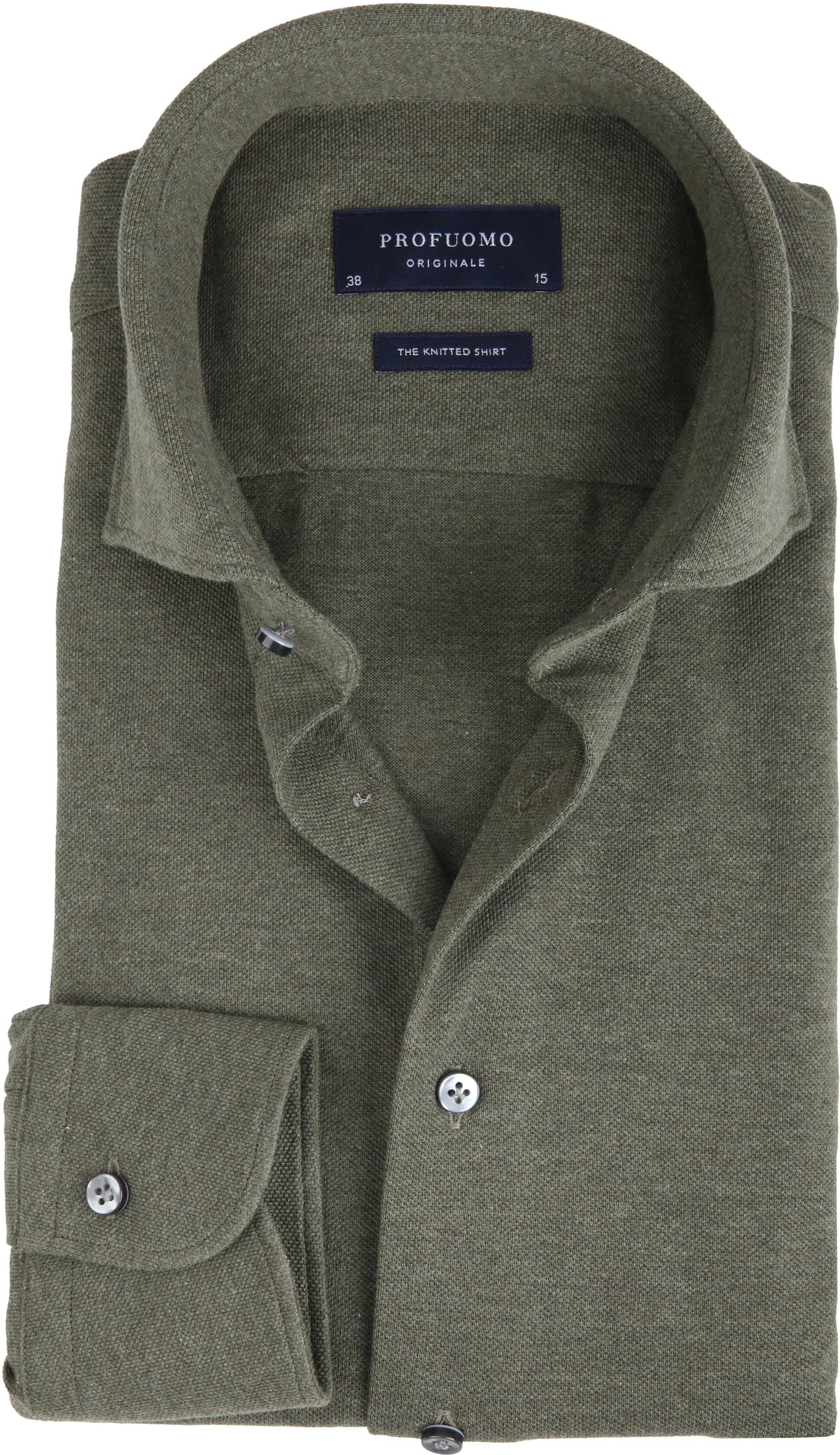 Profuomo Shirt Knitted Green foto 0