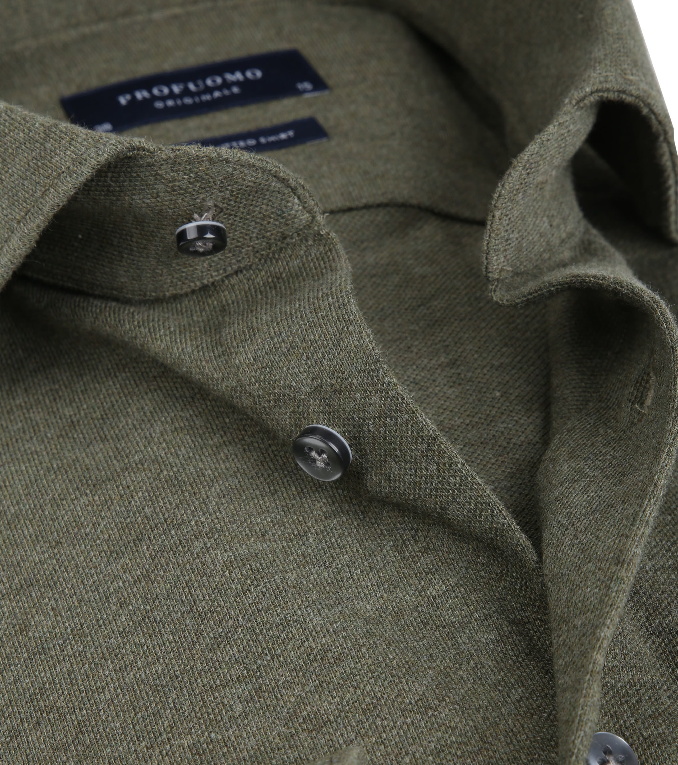 Profuomo Shirt Knitted Green foto 1