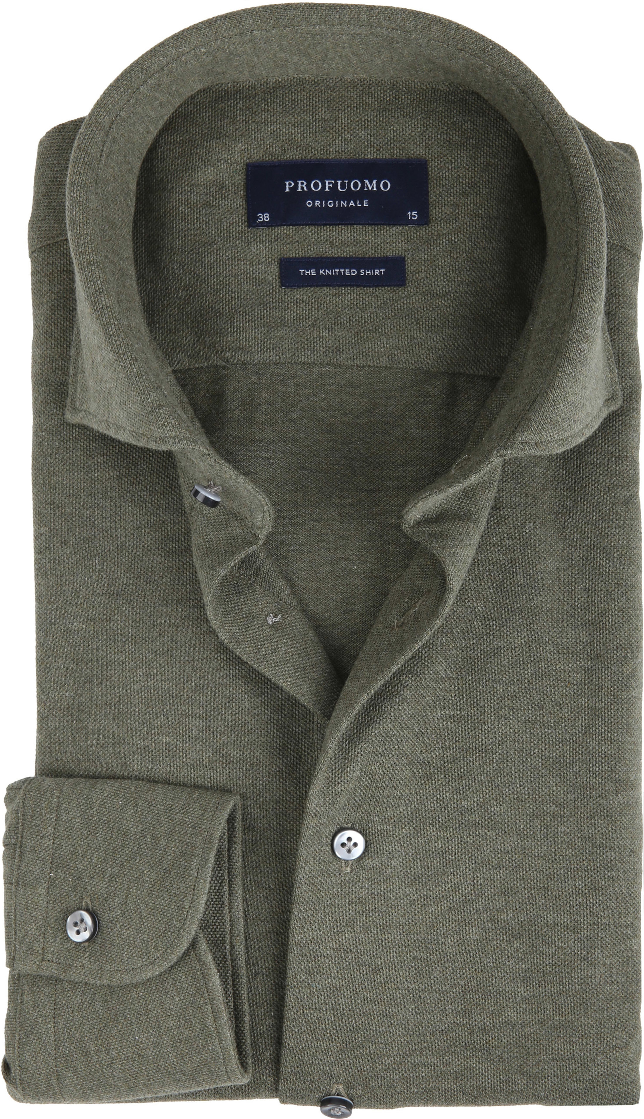 Profuomo Shirt Knitted Green