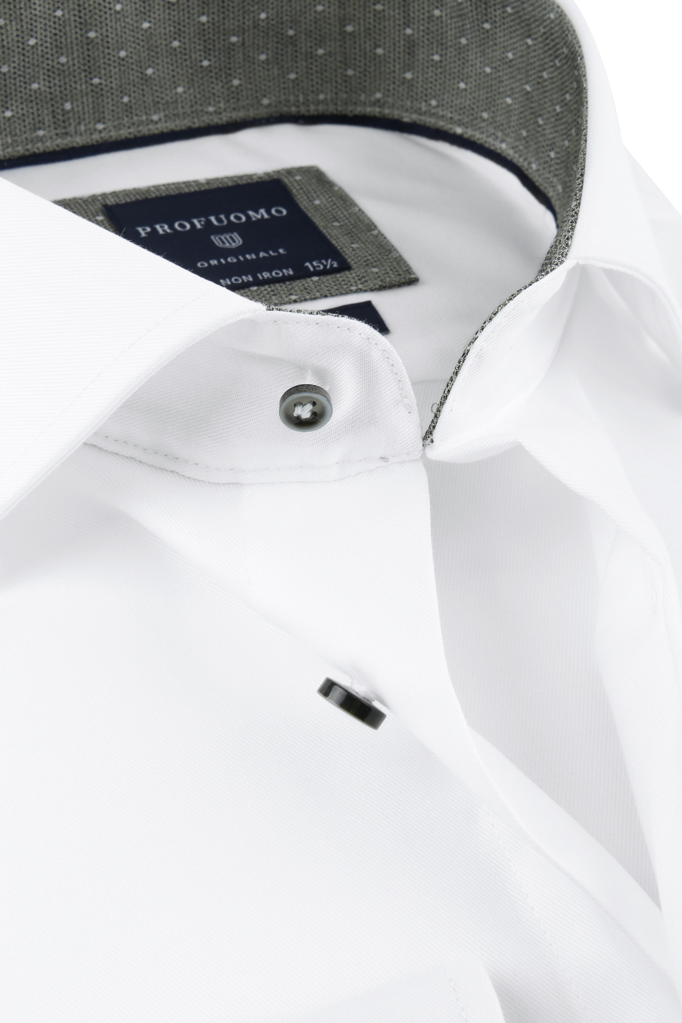 Profuomo Shirt SF Wit Cutaway photo 1