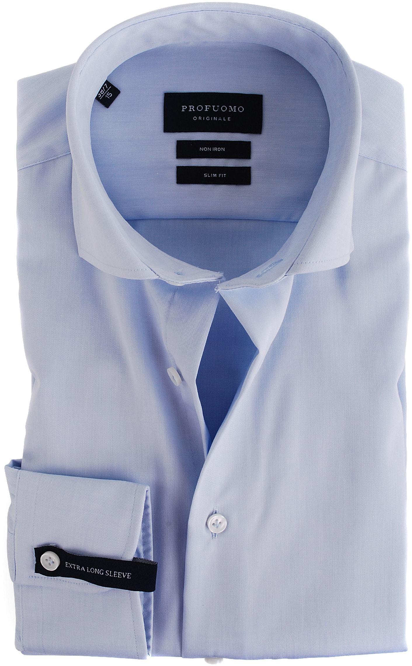 Profuomo Shirt SL7 Cutaway Lichtblauw foto 0